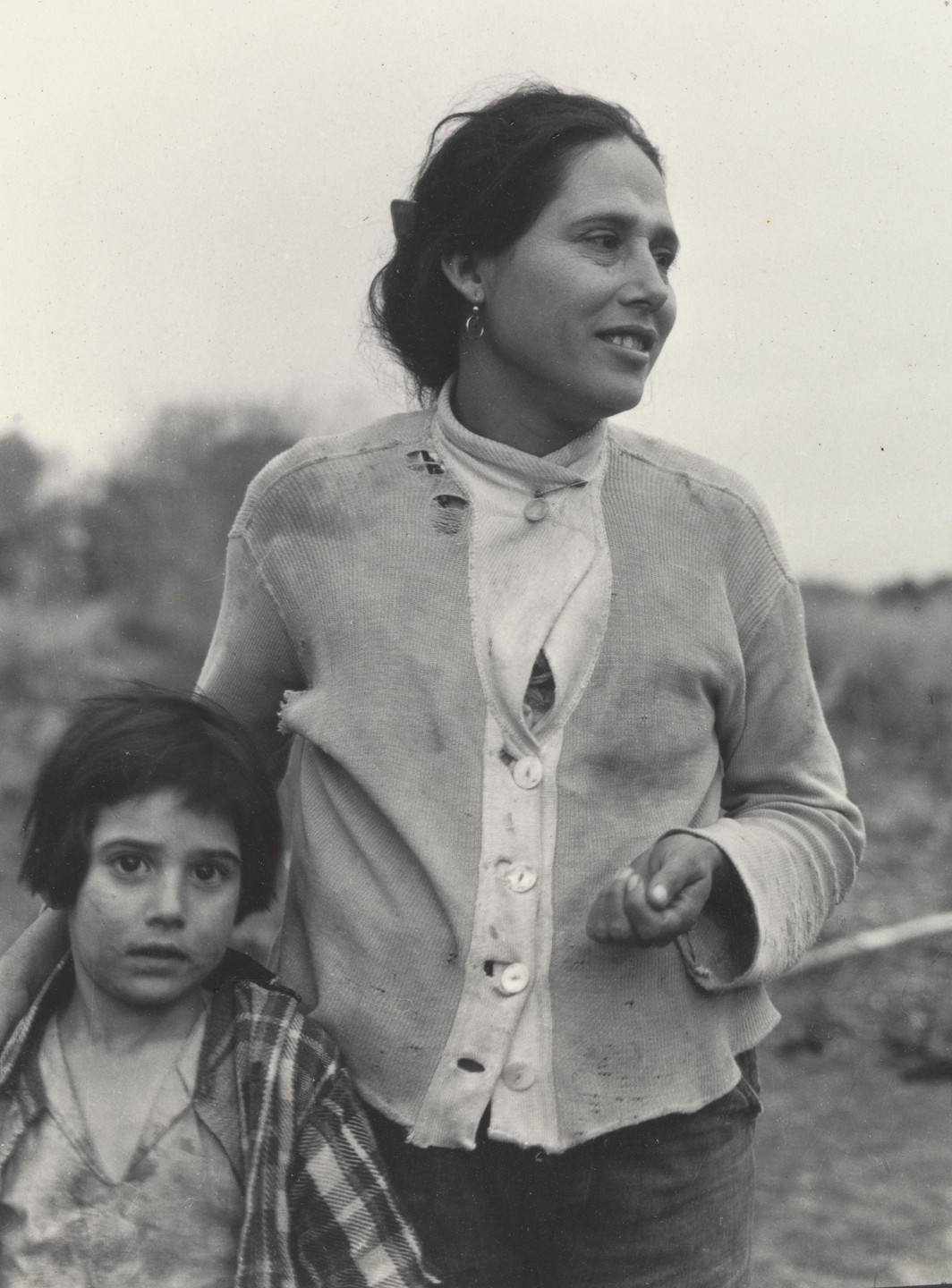 Dorothea Lange. Mexican Woman and Child, Imperial Valley, California. March 1935