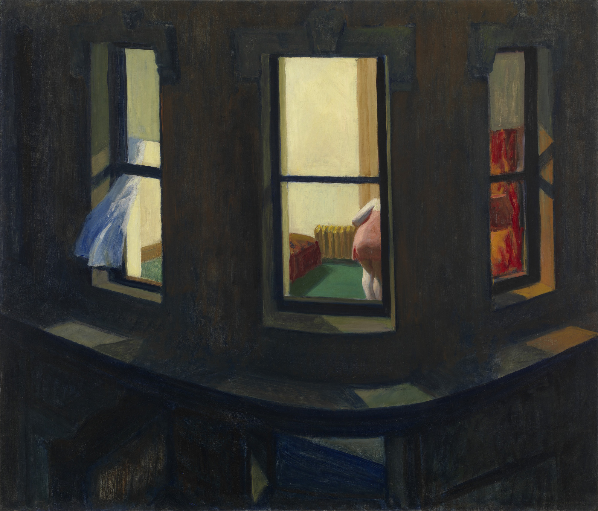 Edward Hopper Night Windows 1928 Moma