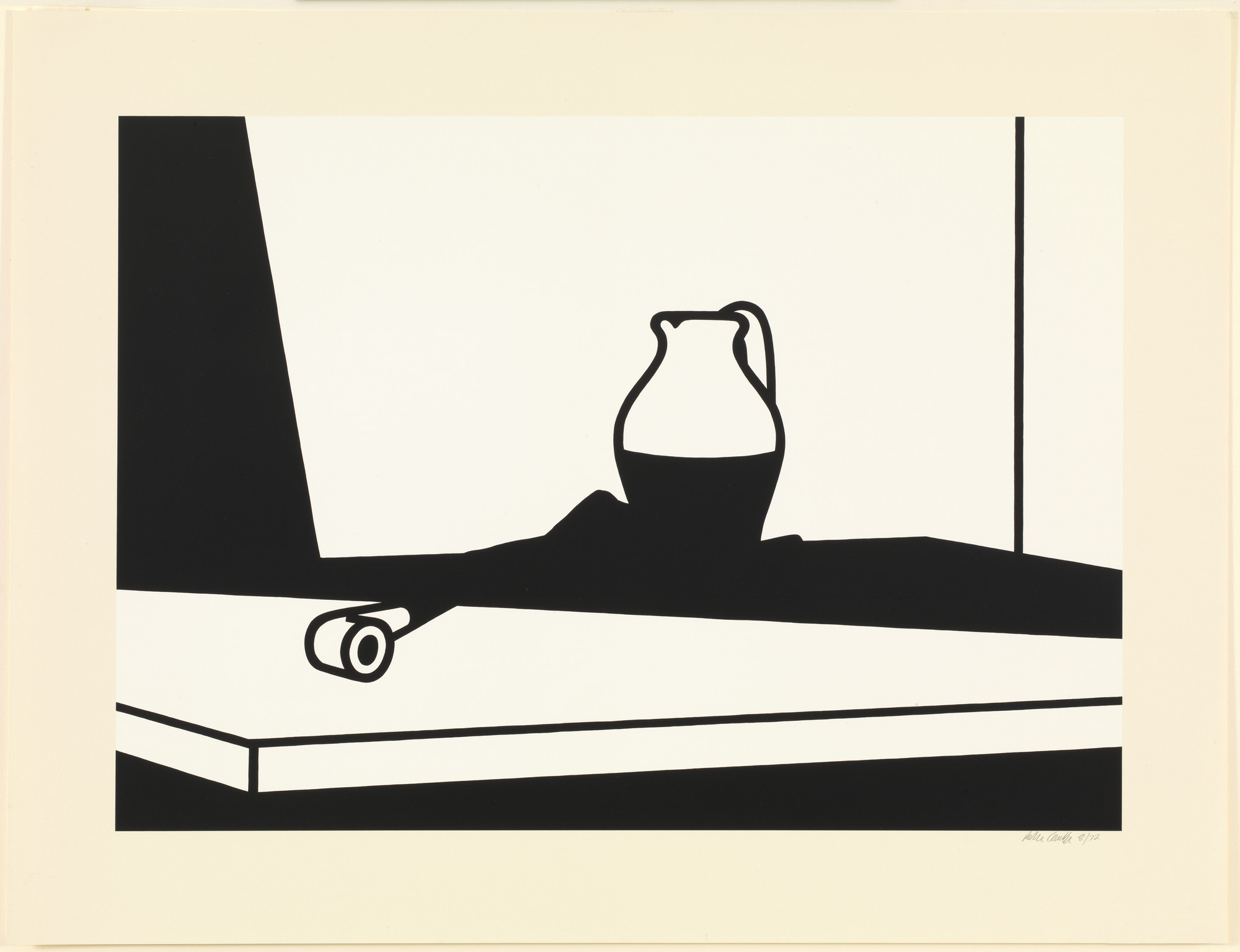Patrick Caulfield. Pipe and Jug. (1973)