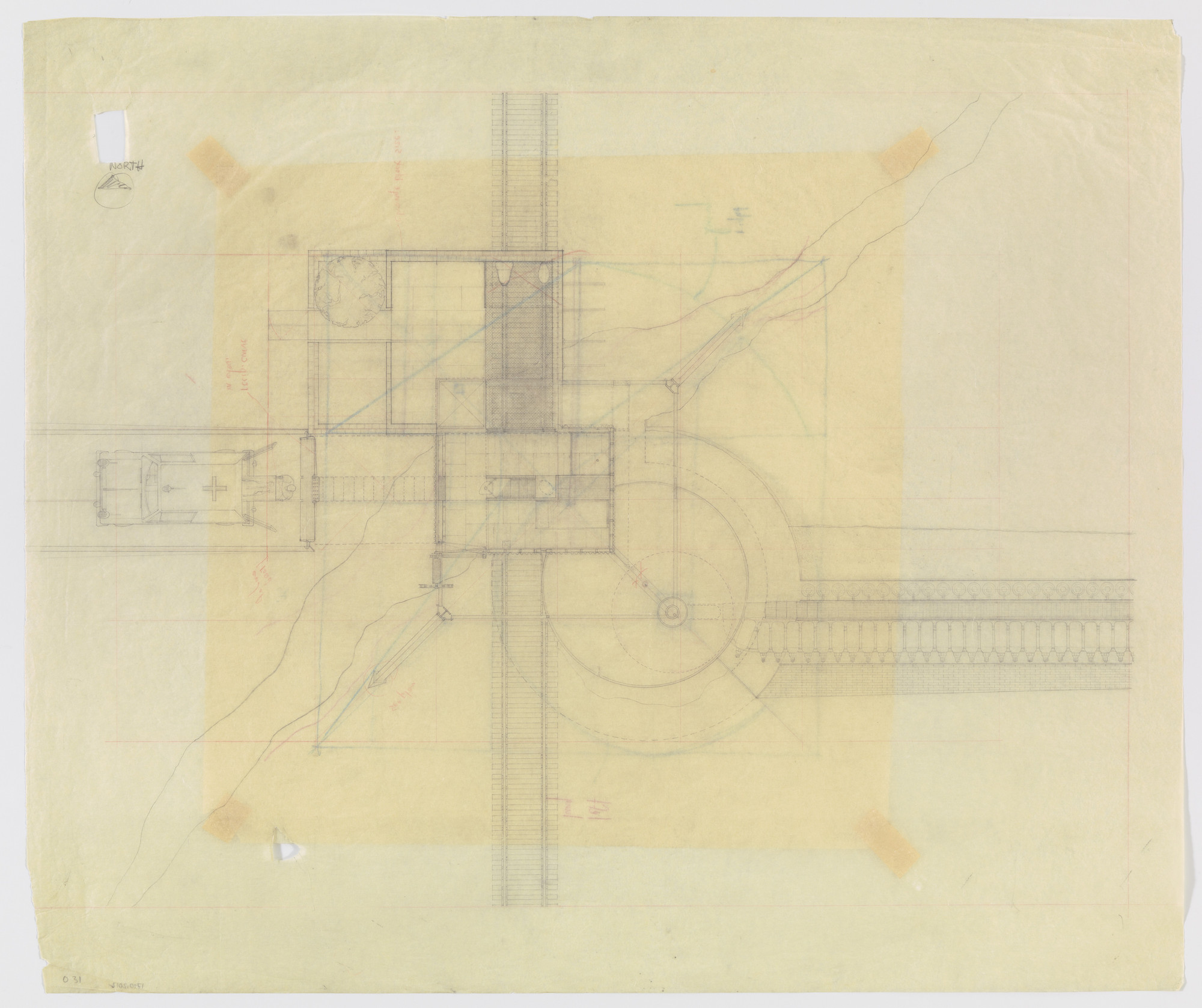 Douglas Darden. Oxygen House Project (Plan). 1988