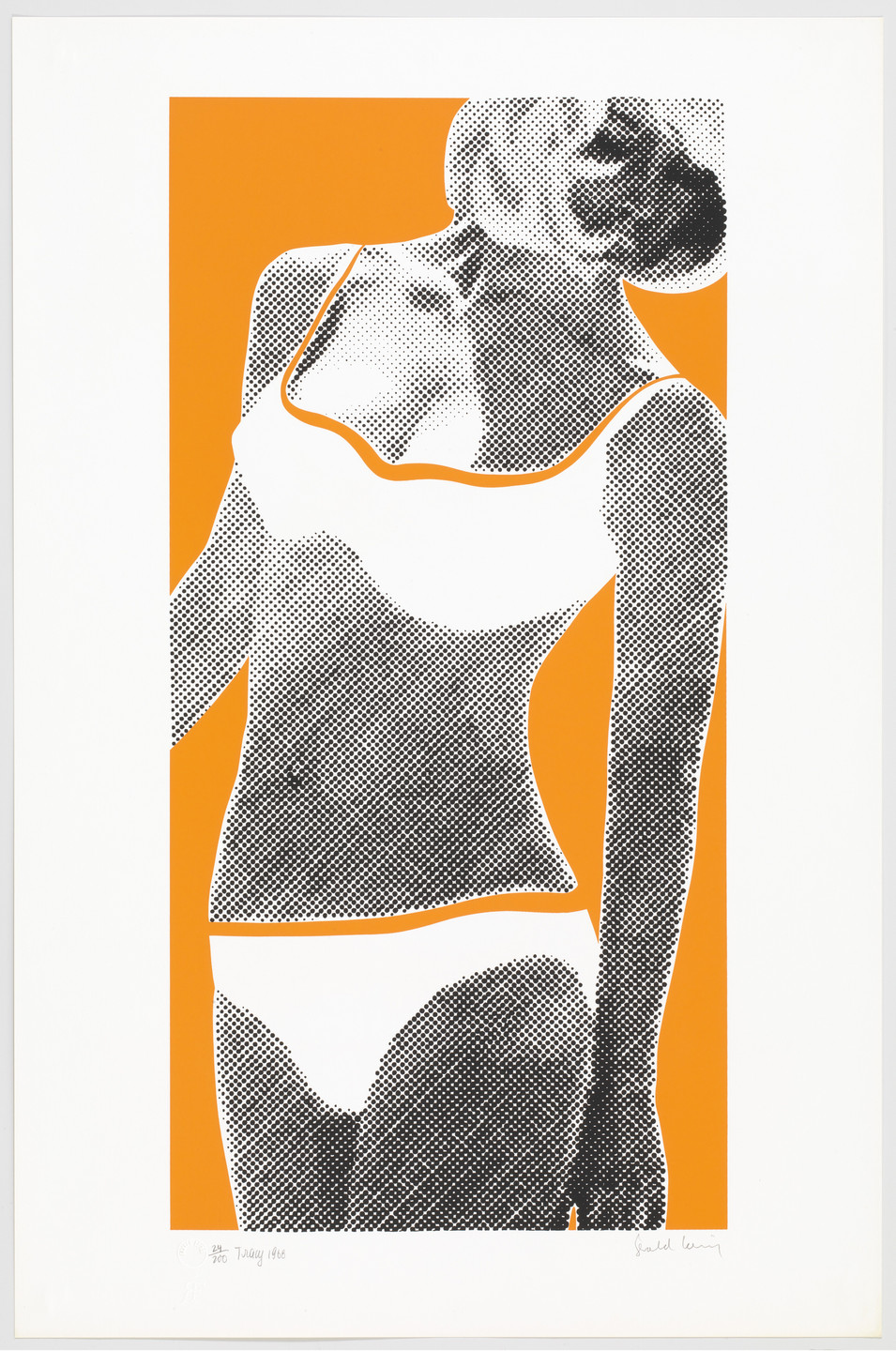 Gerald Laing. Tracy from Baby Baby Wild Things. 1968