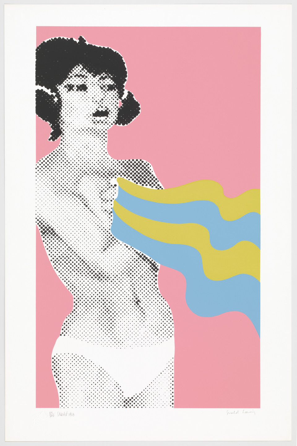 Gerald Laing. Starlet from Baby Baby Wild Things. 1968