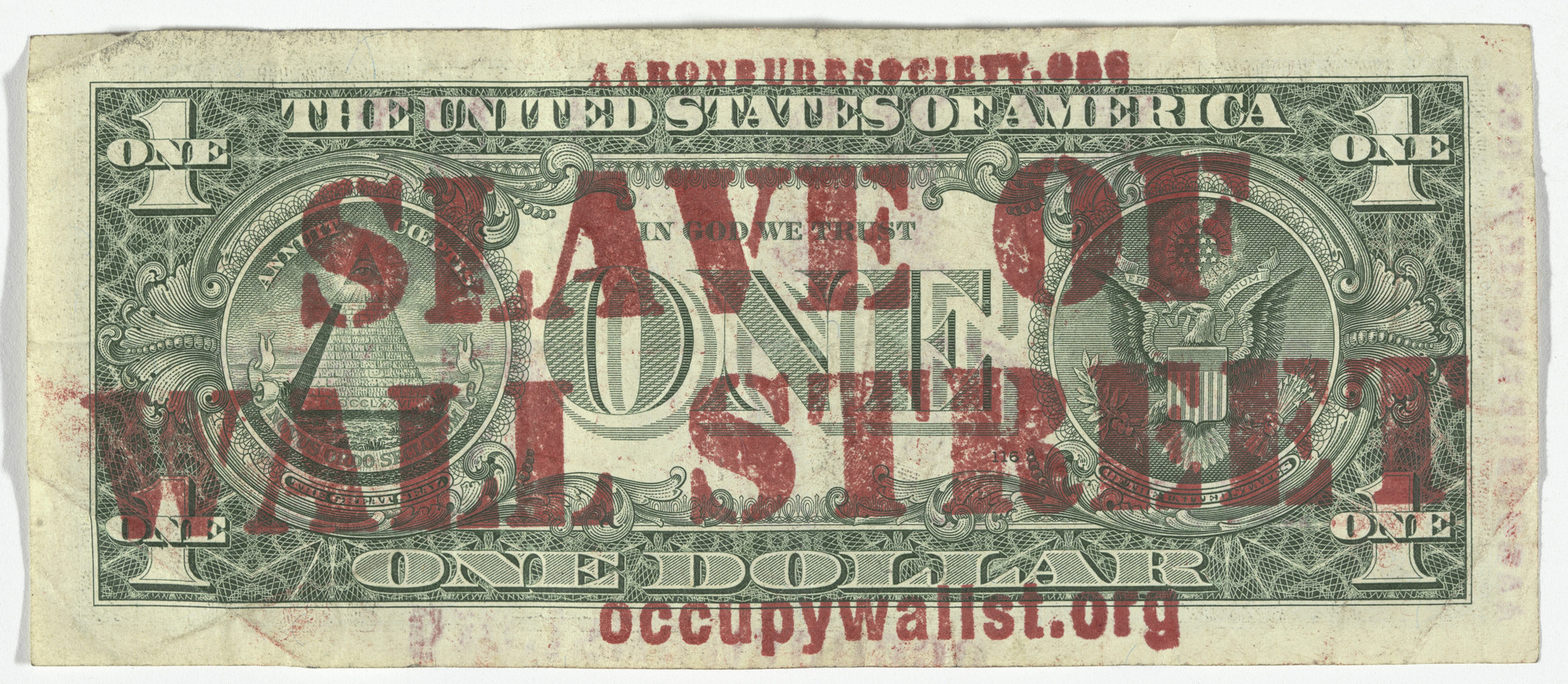 Aaron Burr Society, Jim Costanzo. Free Money Movement. 2009-ongoing