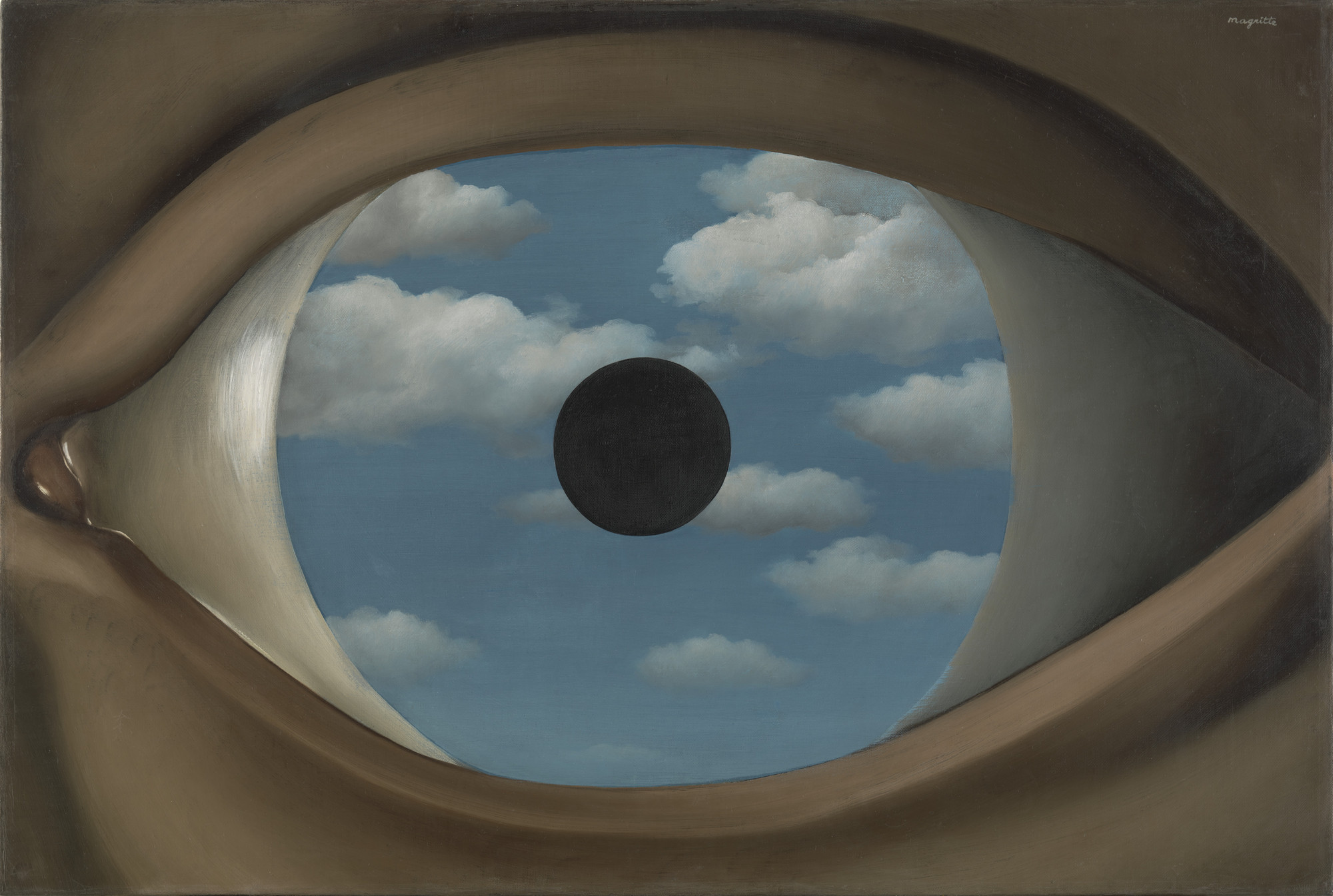 René Magritte. The False Mirror. Paris 1929