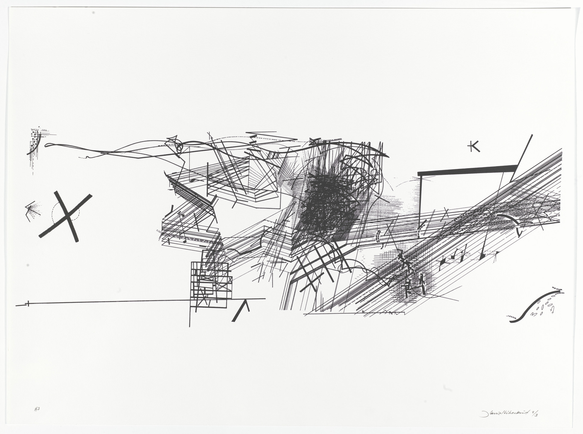 Daniel Libeskind. Chamber Works: Architectural Meditations on Themes from Heraclitus. 1983