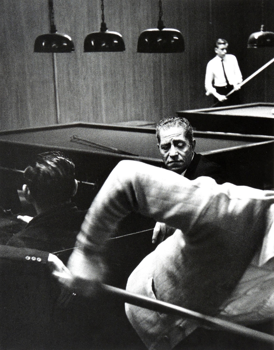 Julio Mitchel. Pool Room, New York. 1962