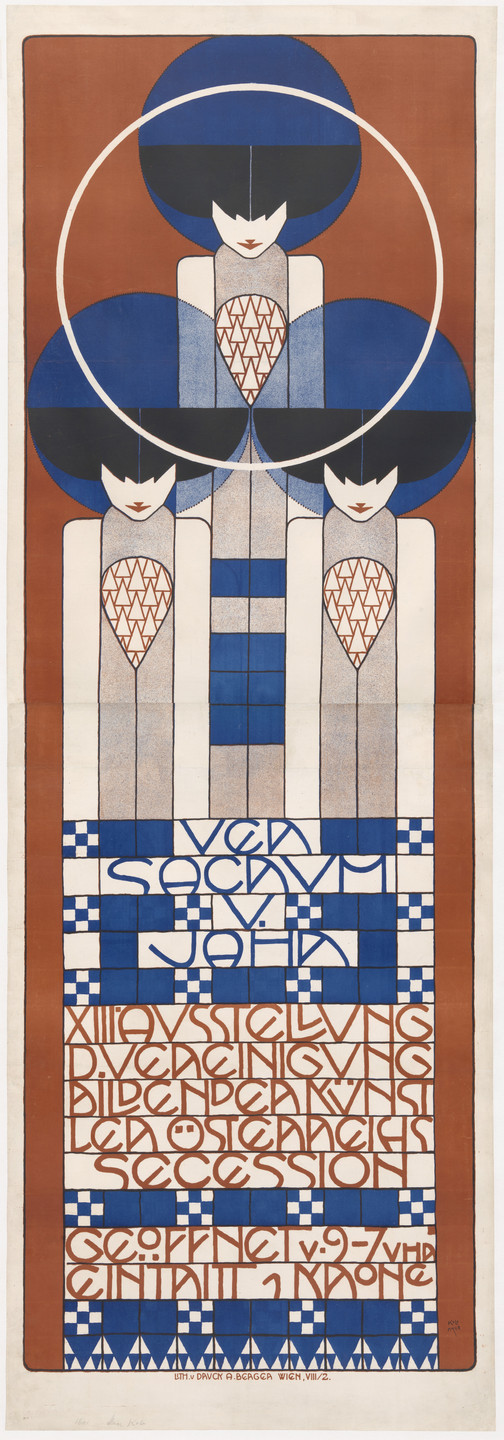 Koloman Moser. Ver Sacrum, XIII (Poster for the 13th Secession exhibition). 1902