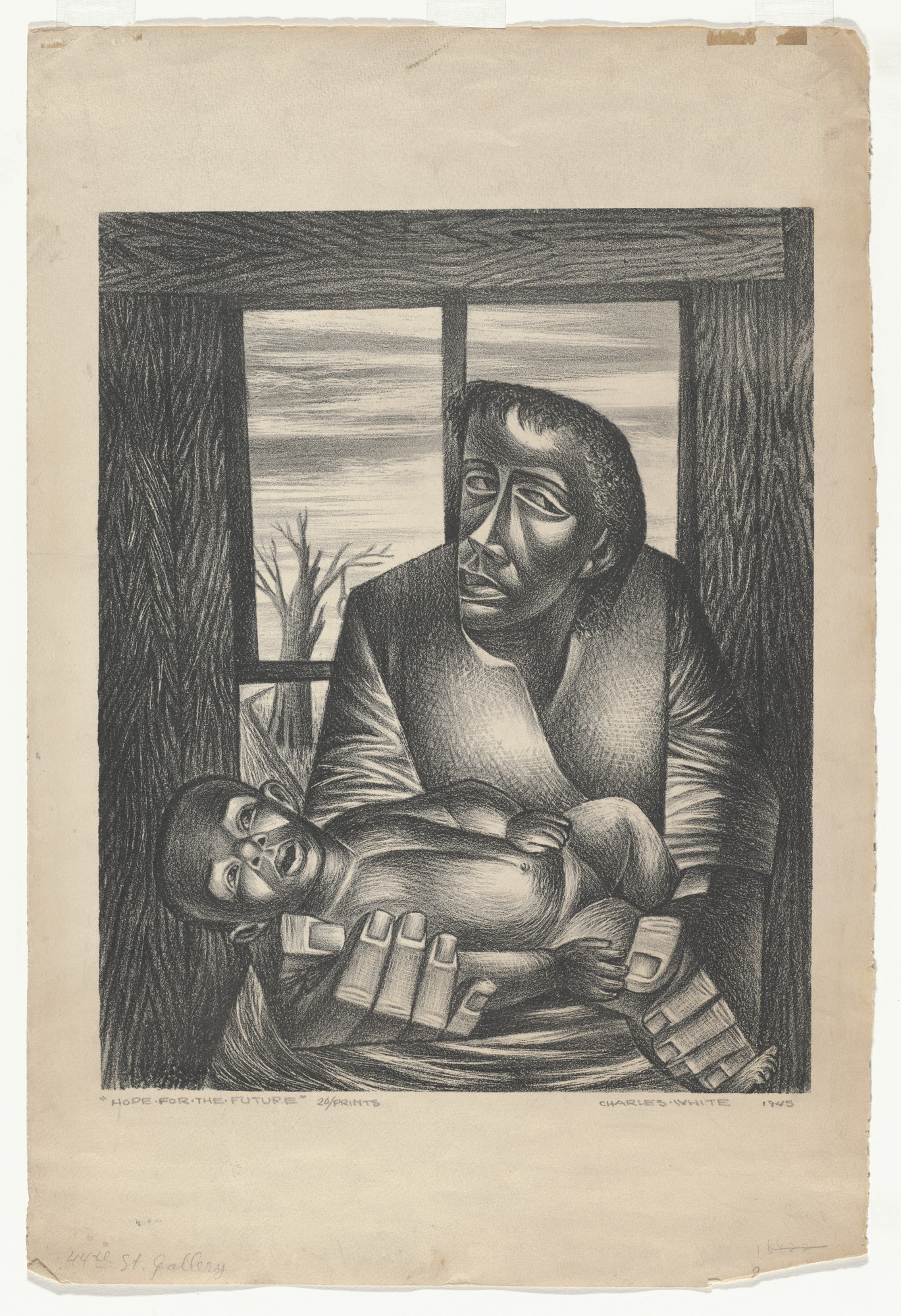 Charles White. Hope for the Future. 1945