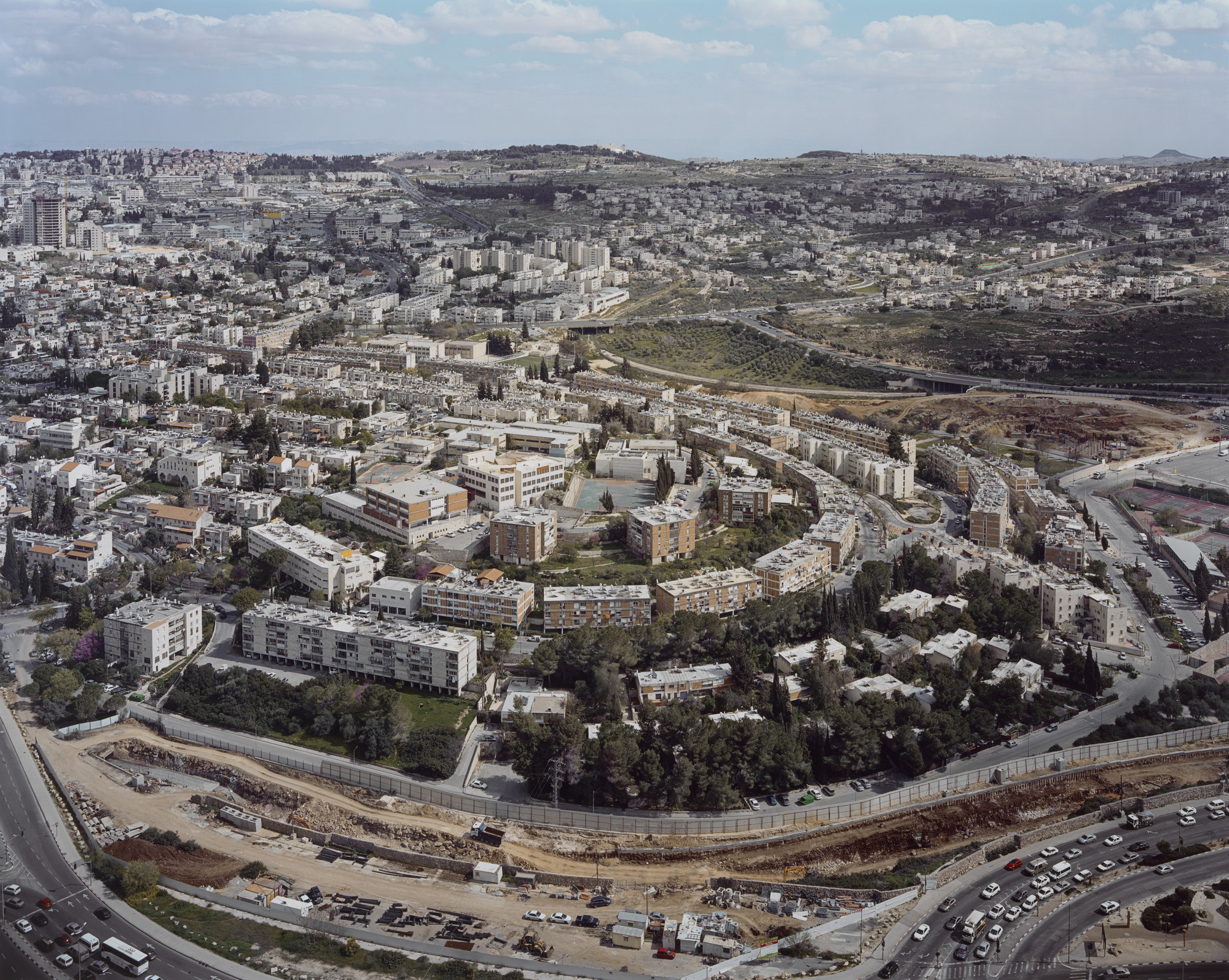Stephen Shore. Beit Safāfā, Jerusalem, Israel, March 22, 2011. 2011
