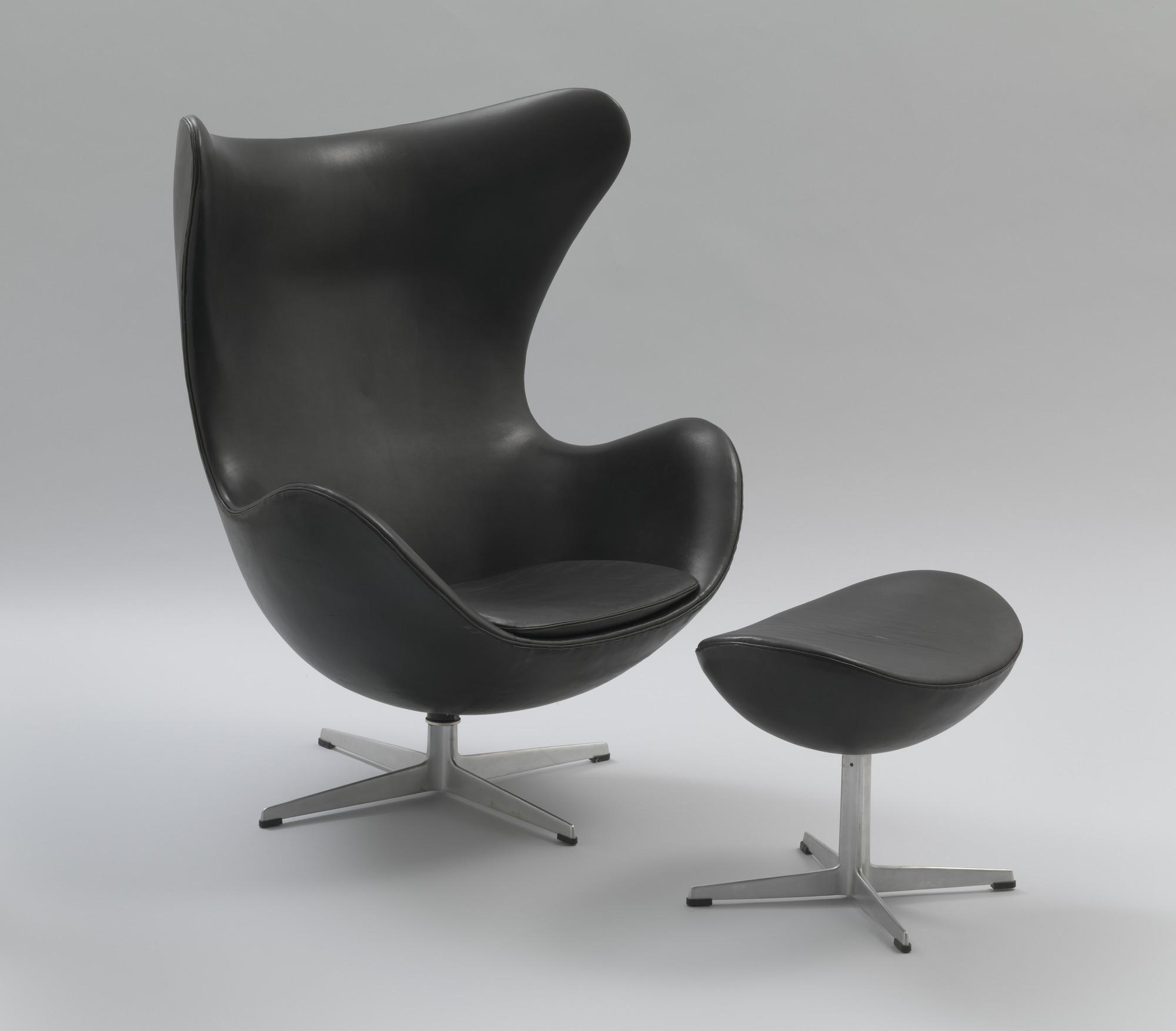 Arne Jacobsen Egg Chair And Ottoman 1958 Moma