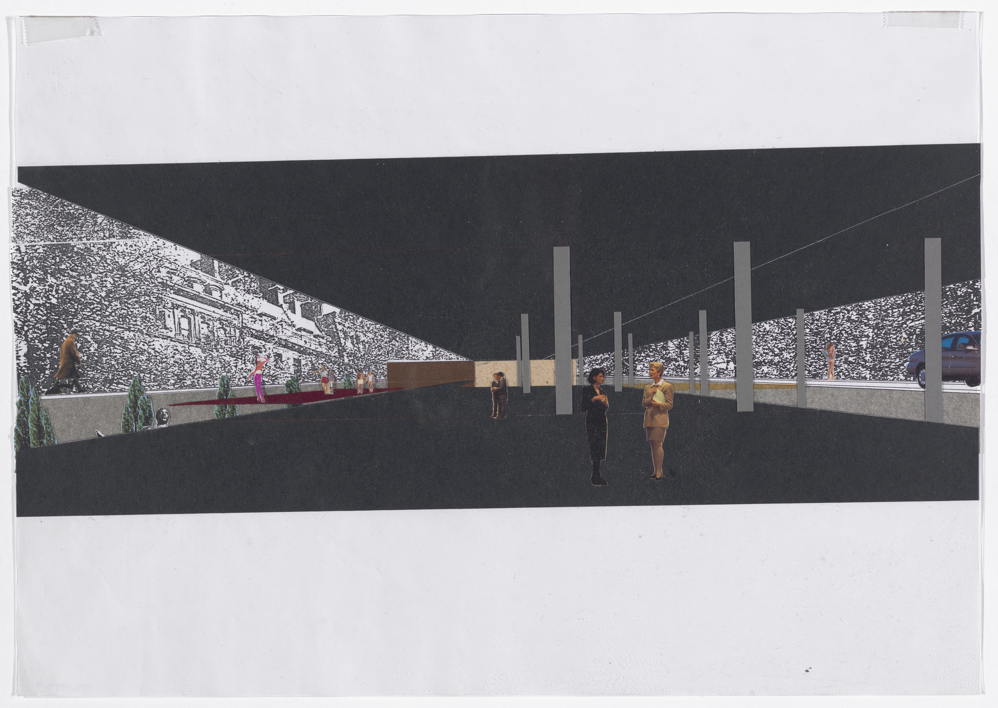 Rem Koolhaas  Charrette Submission for The Museum of Modern