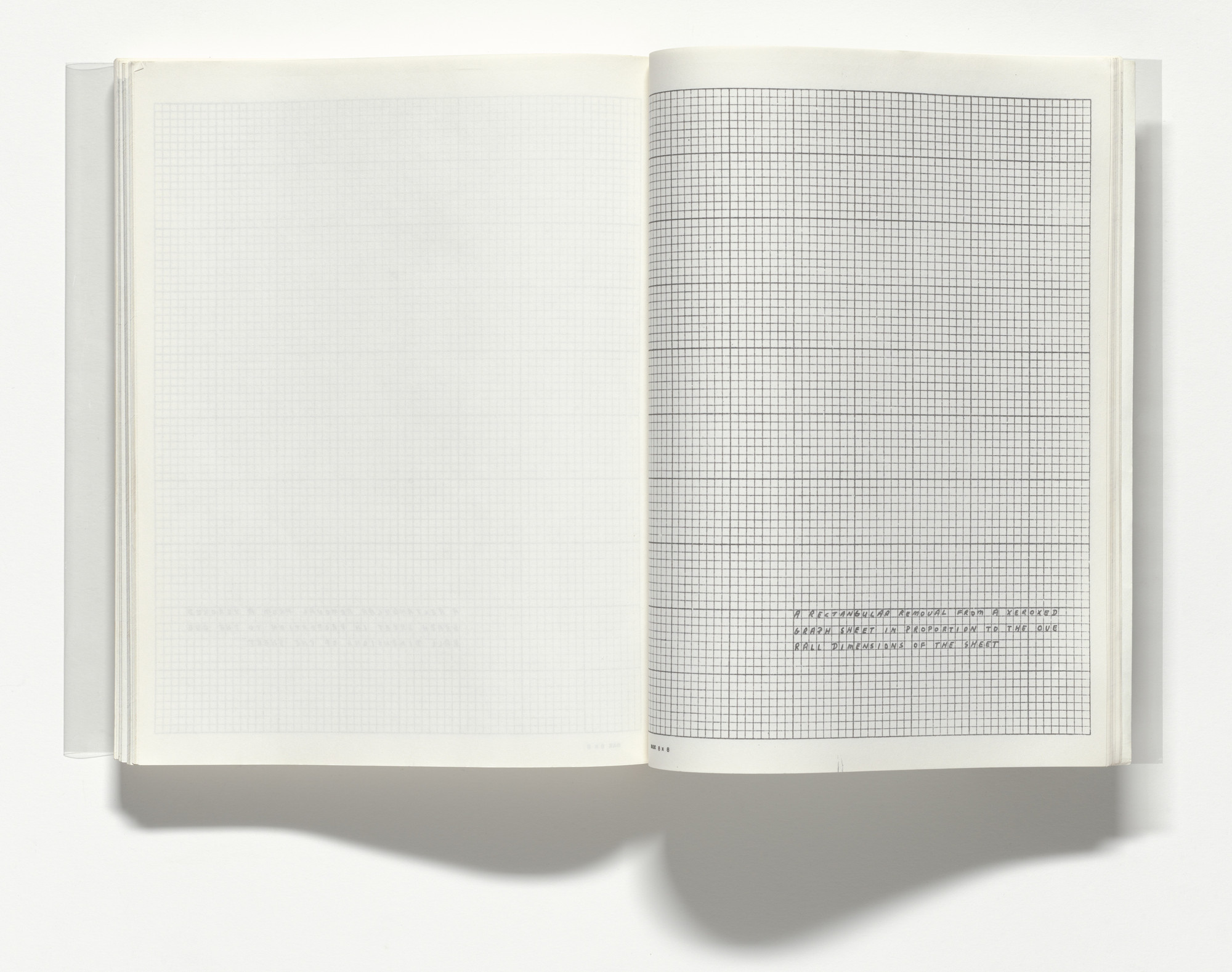 Lawrence Weiner. 25 plates from Untitled (Xerox Book). 1968
