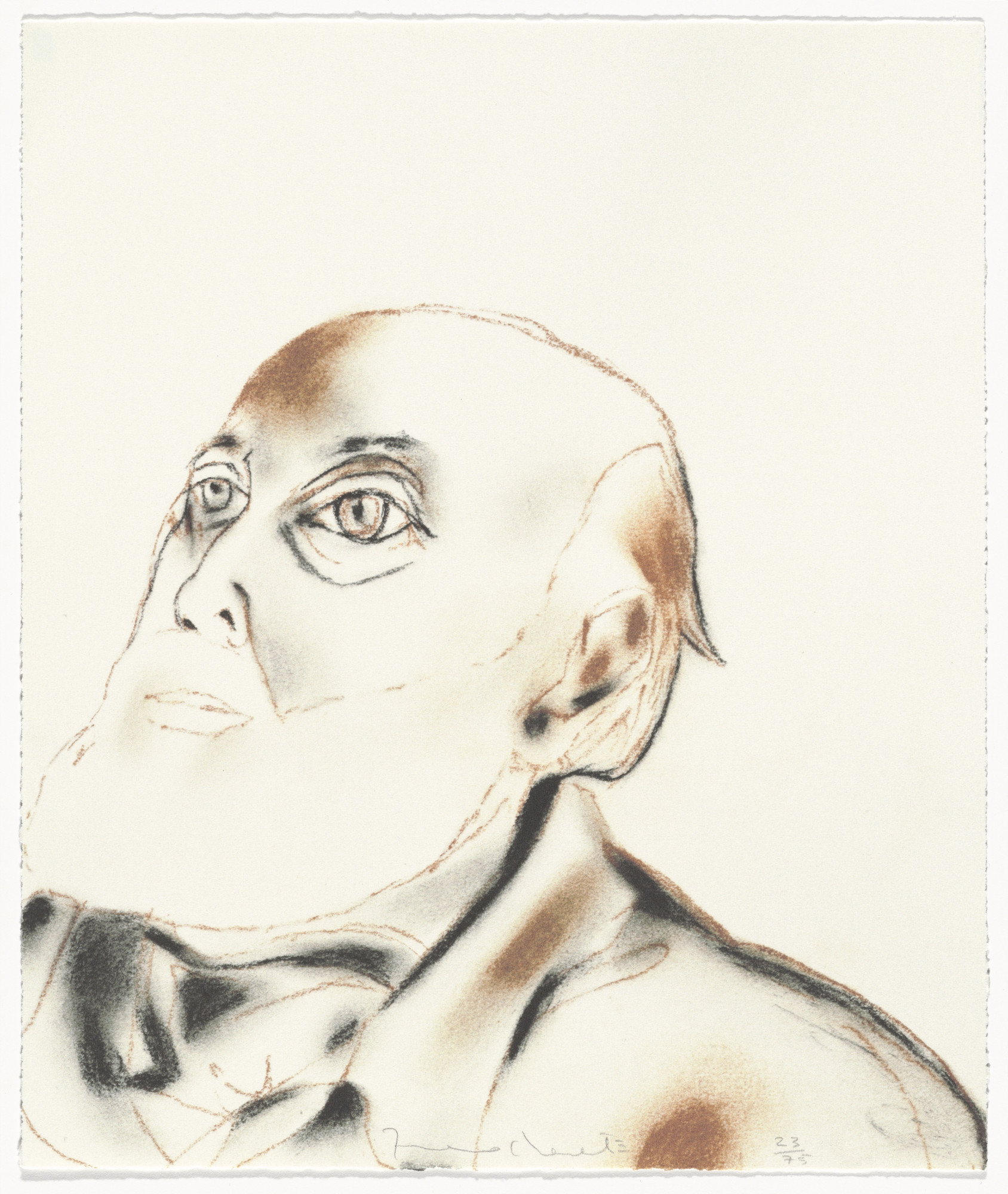 Francesco Clemente. Untitled from The Geldzahler Portfolio. 1997, published 1998