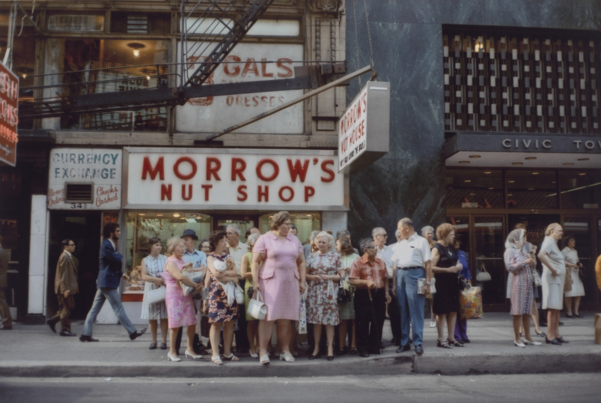 Stephen Shore. Chicago, Illinois, July 1972. 1972