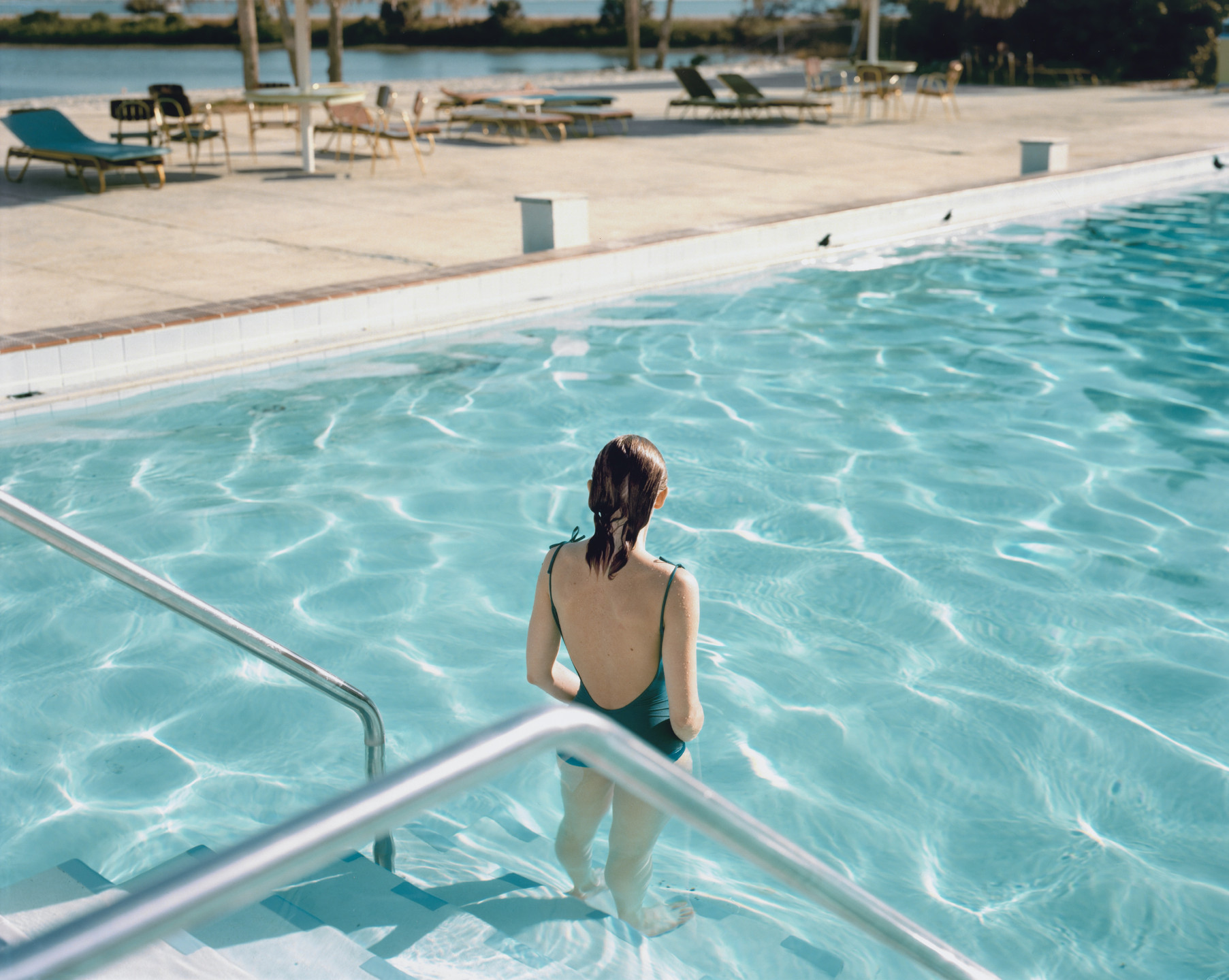 Stephen Shore. Ginger Shore, Causeway Inn, Tampa, Florida, November 17, 1977. 1977