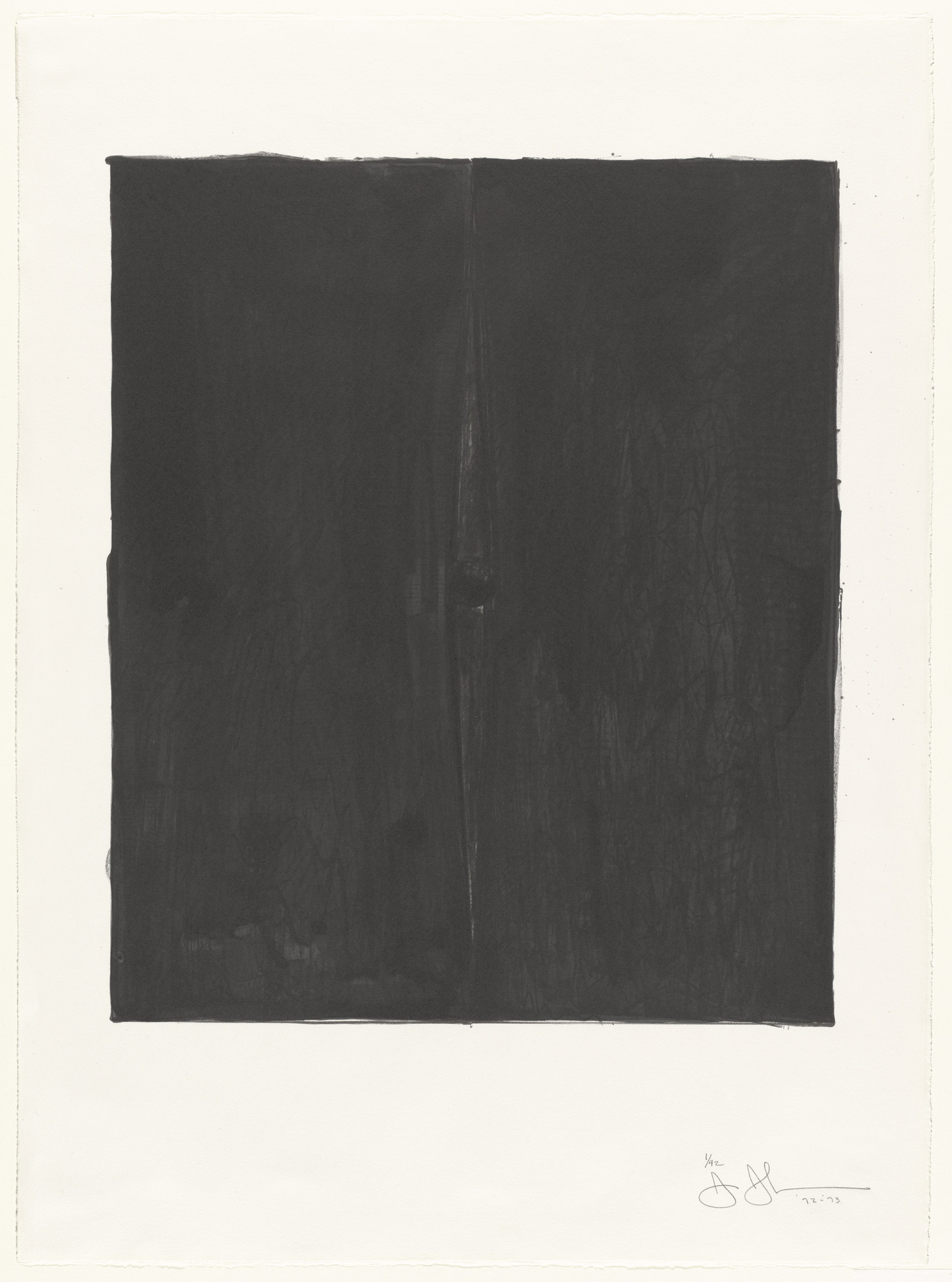 Jasper Johns. Painting with a Ball. 1972–73