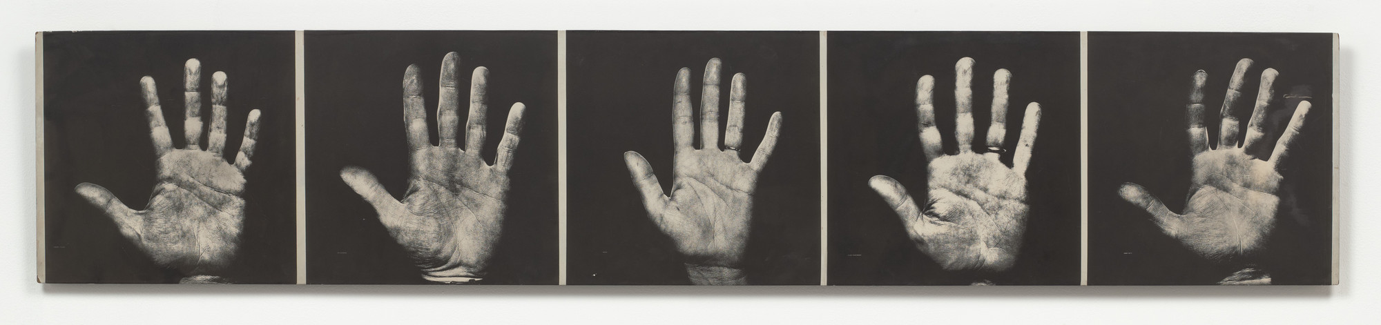 Robert Filliou, Scott Hyde. Hand Show. 1967