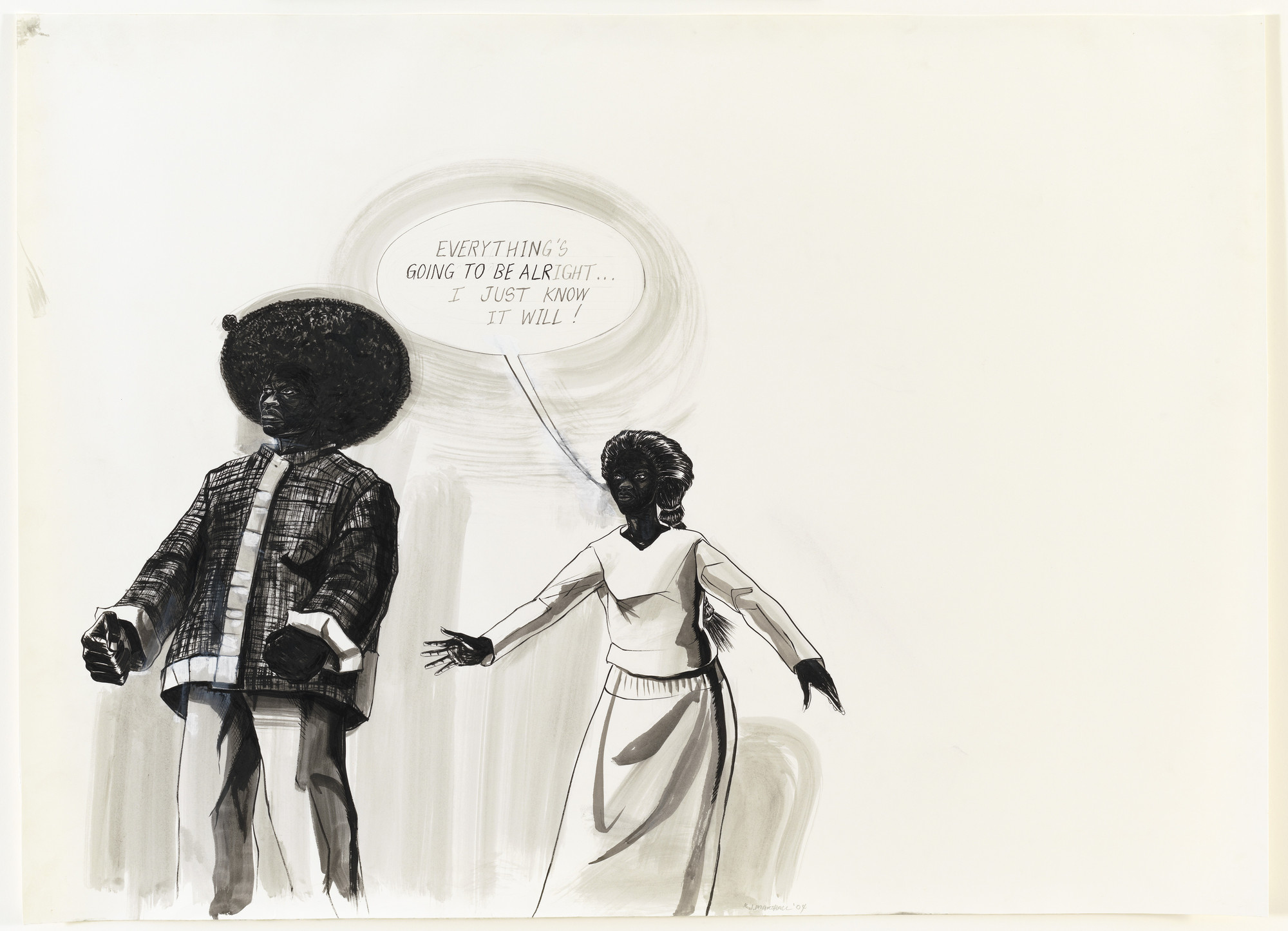 Kerry James Marshall. Untitled. 2004
