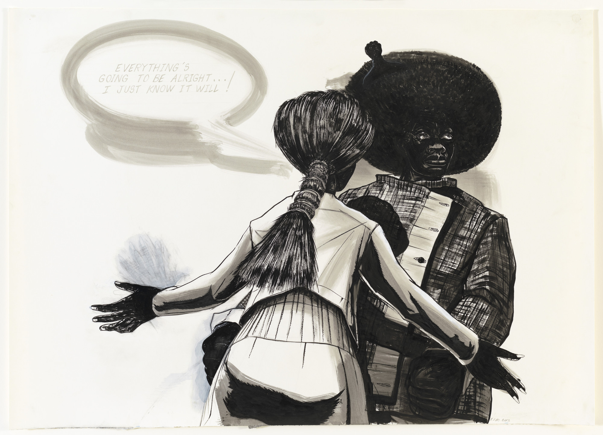 Kerry James Marshall. Untitled. 2003