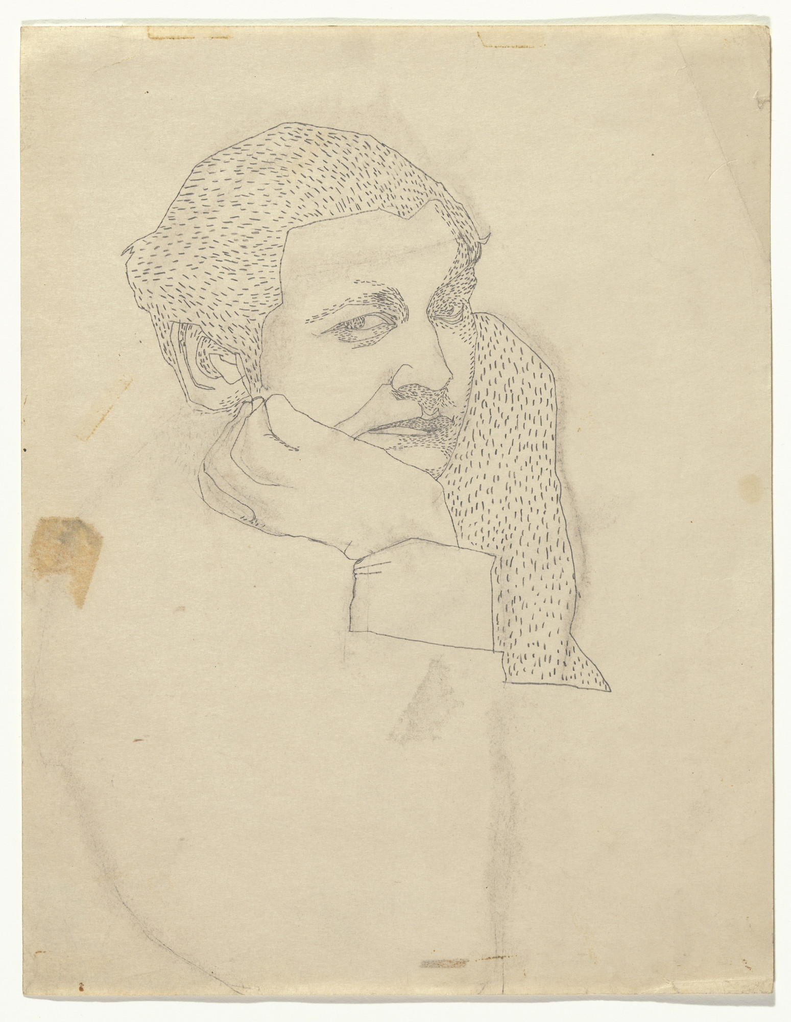 Andy Warhol. Untitled ([Early Work] Woman). (c. 1946)