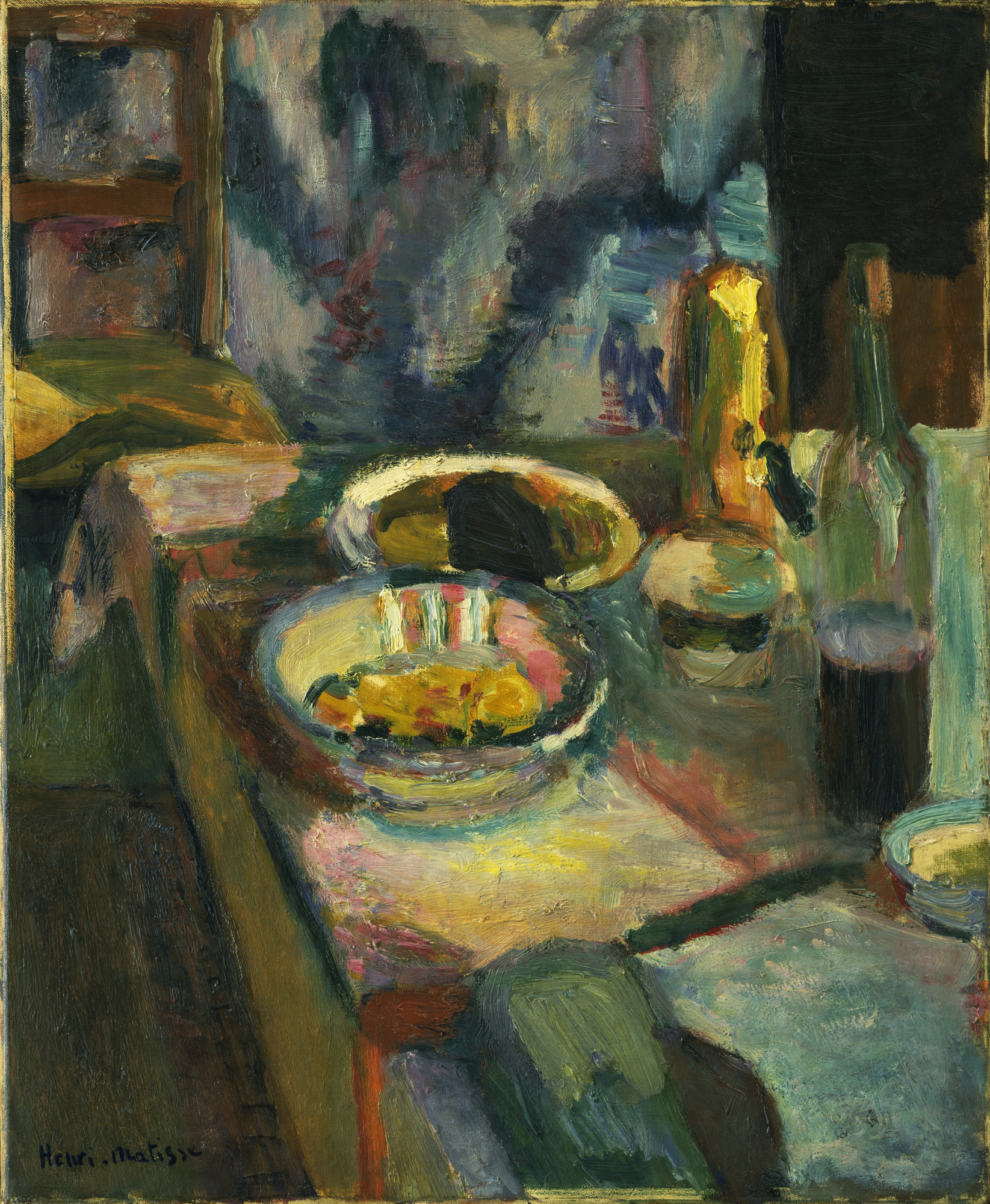 Henri Matisse. Still Life. Paris, early 1899