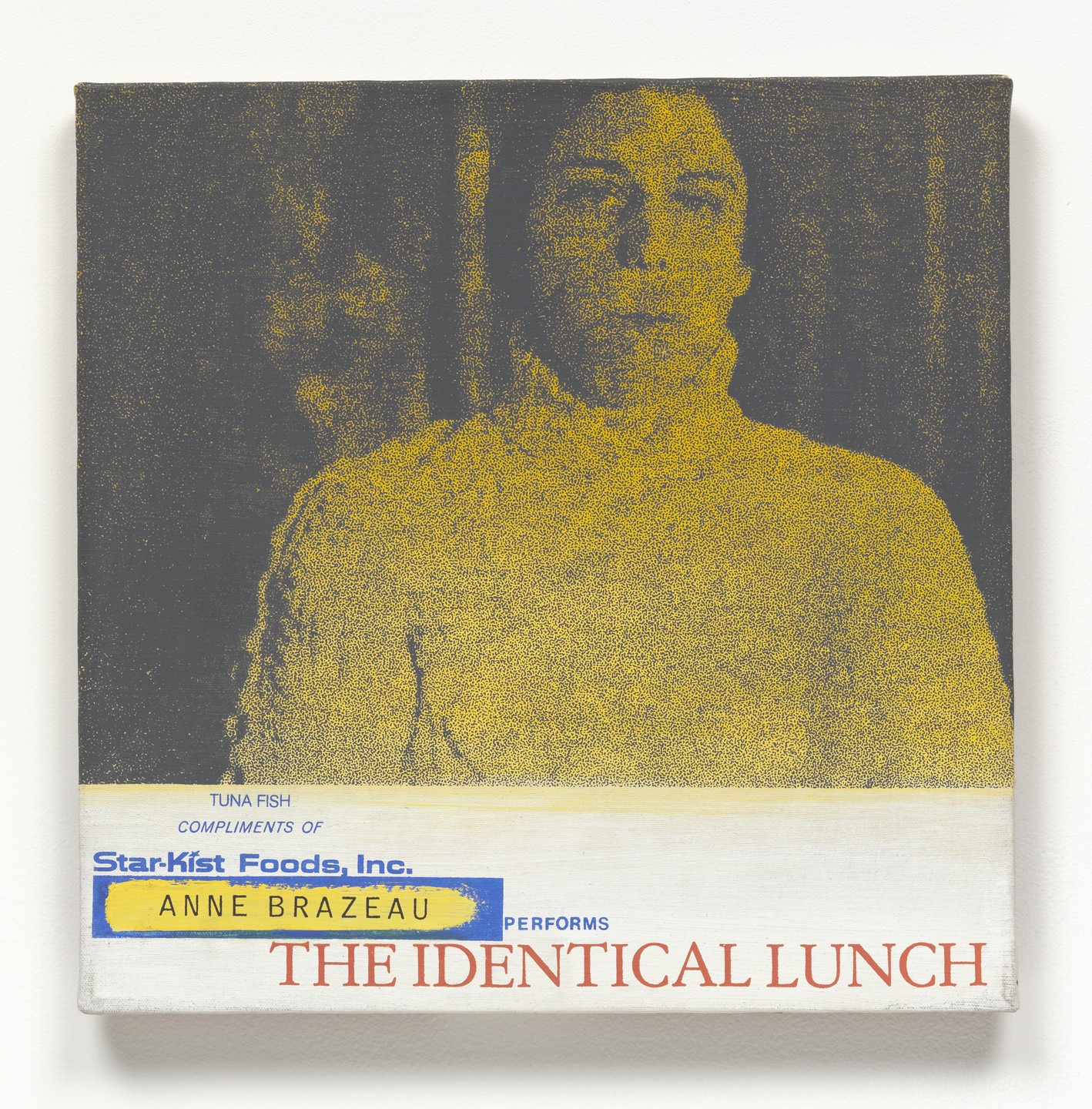 Alison Knowles. Anne Brazeau Performs The Identical Lunch. 1969, realized 1973