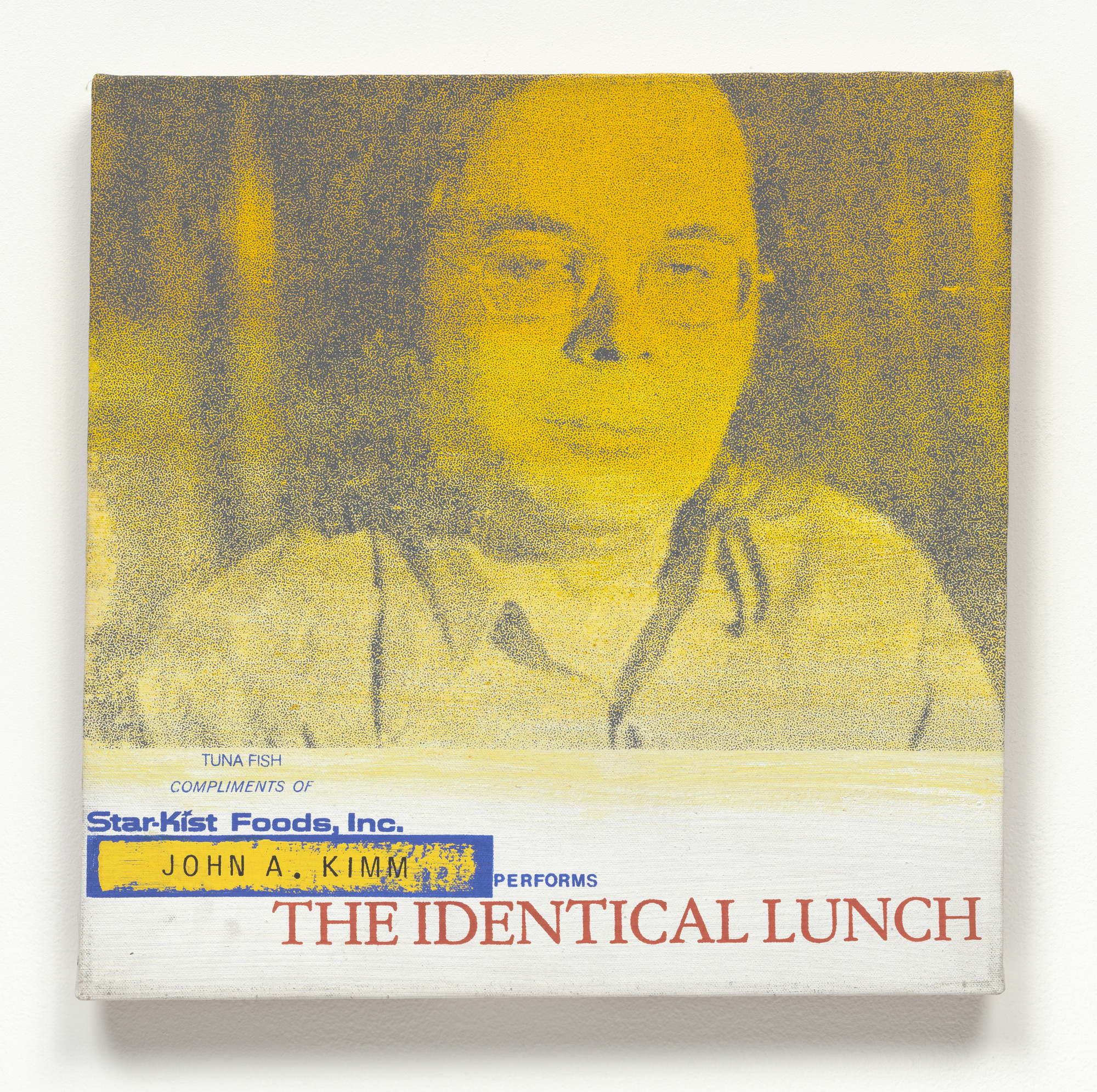 Alison Knowles. John A. Kimm Performs The Identical Lunch. 1969, realized 1973
