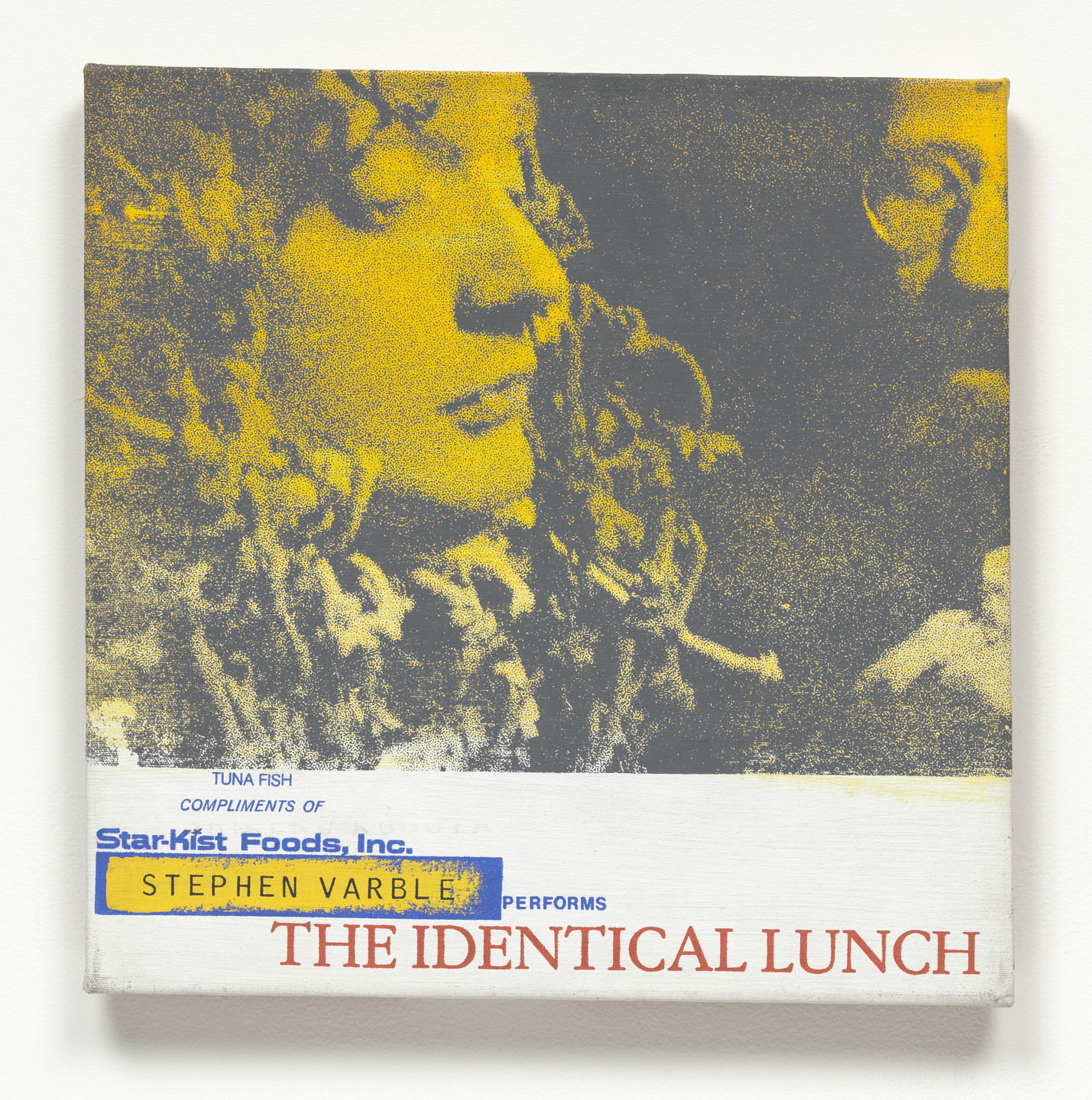 Alison Knowles. Stephen Varble Performs The Identical Lunch. 1969, realized 1973