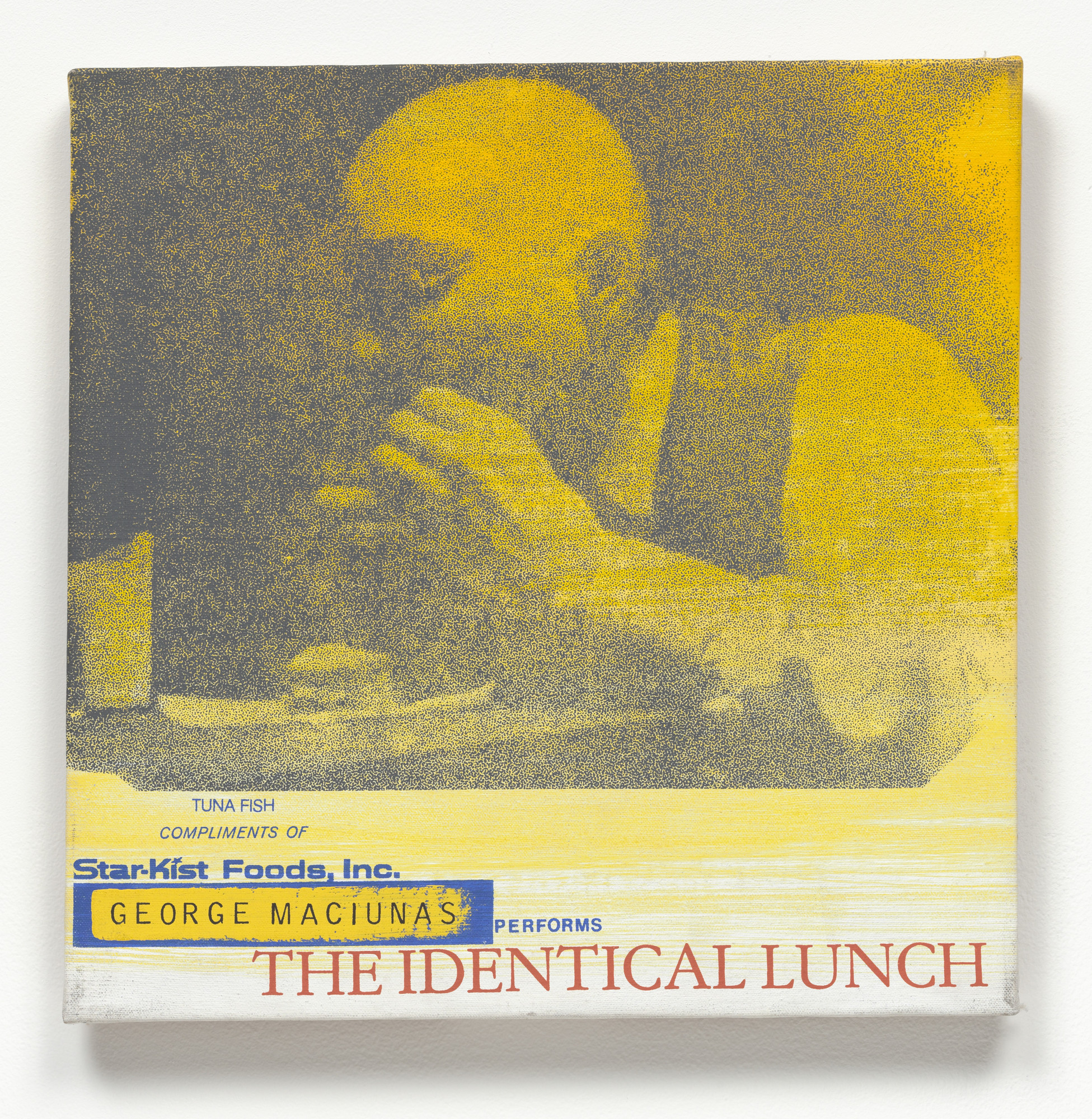 Alison Knowles. George Maciunas Performs The Identical Lunch. 1969, realized 1973