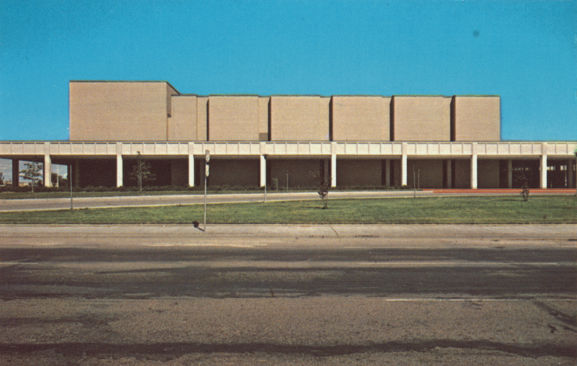 Stephen Shore. Civic Center, 3rd & Buchanan. 1971