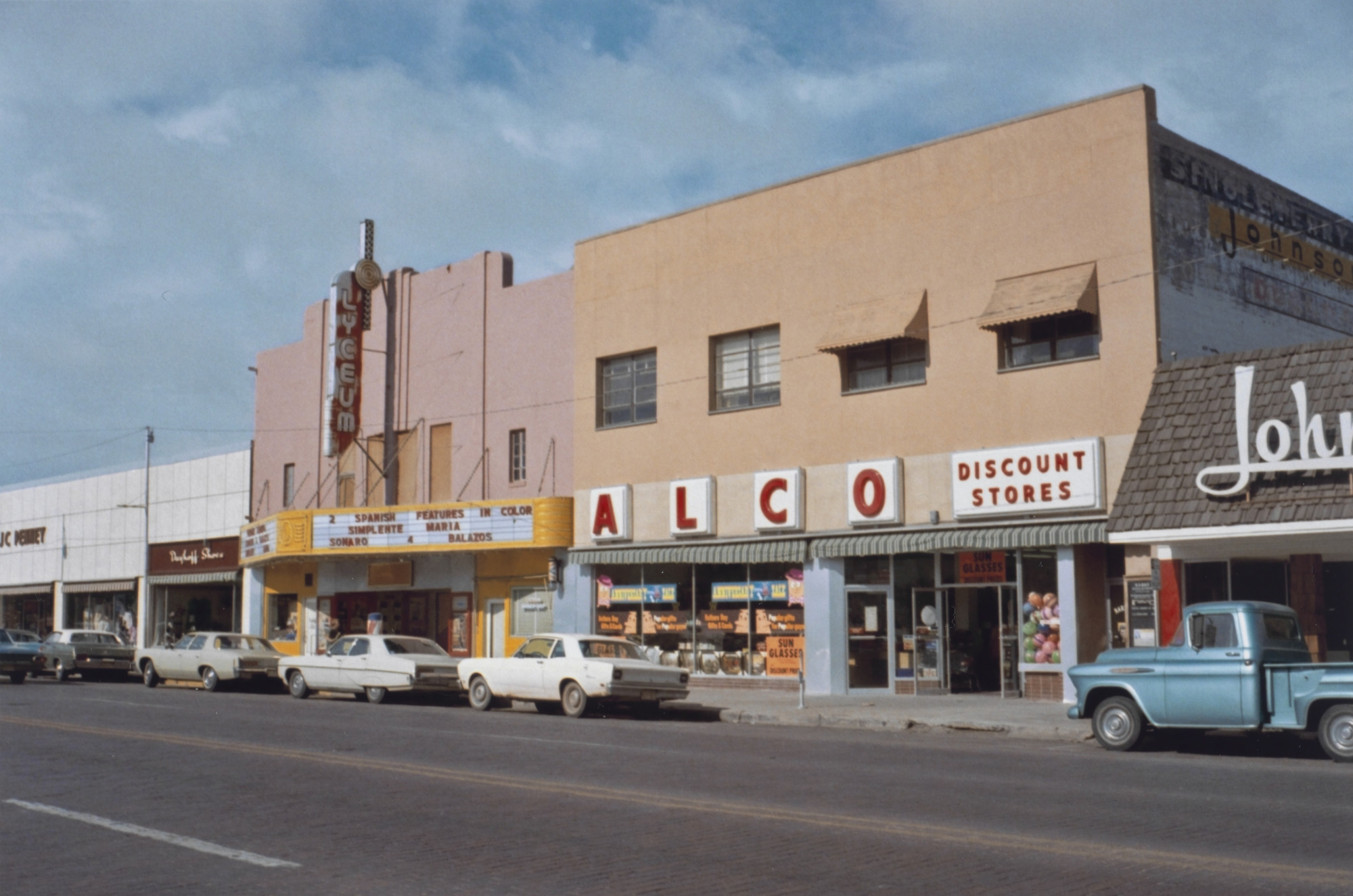 Stephen Shore. Clovis, New Mexico, June 1972. 1972
