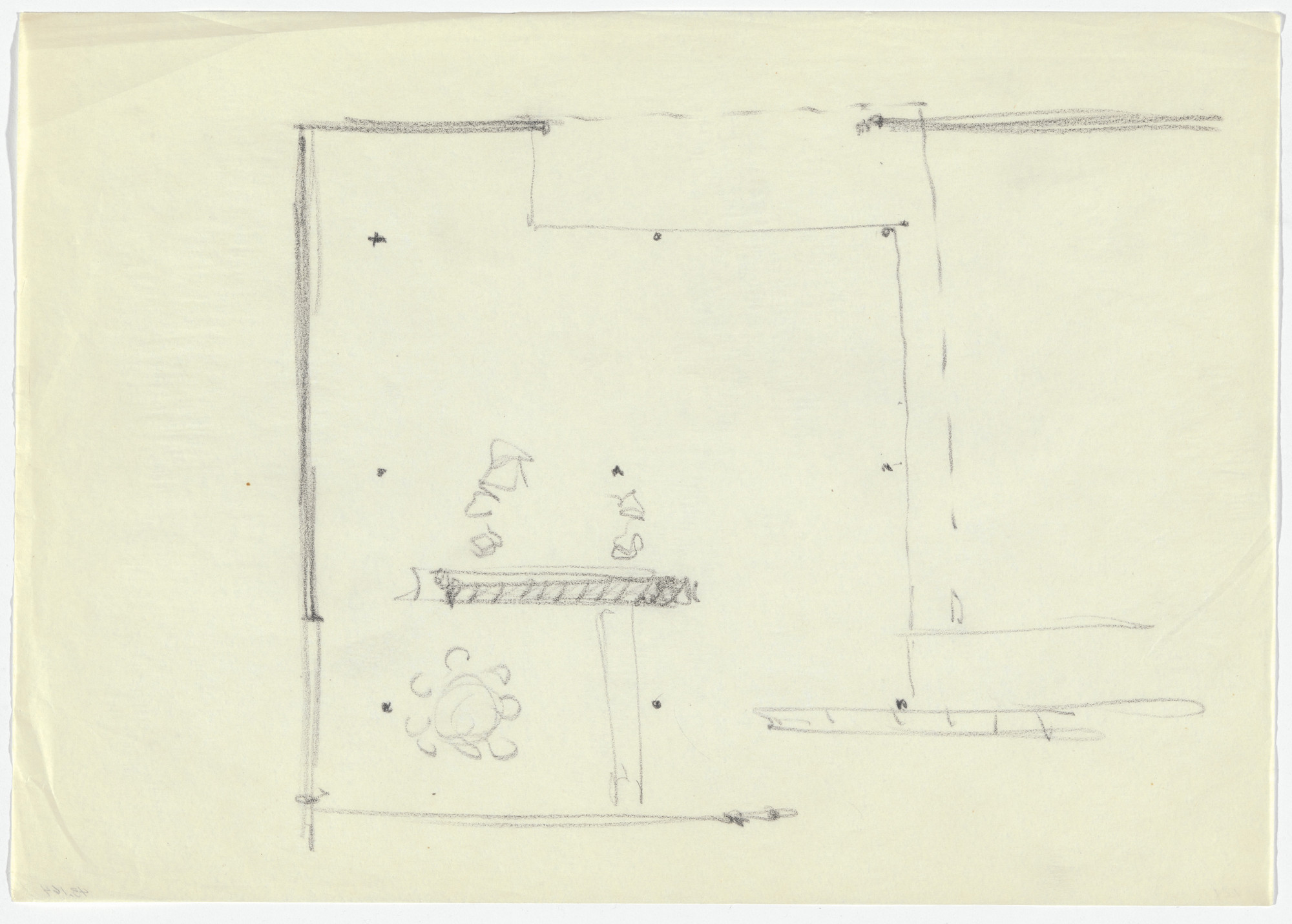 Ludwig Mies van der Rohe. Court House Project, Plan. c. 1935 | MoMA