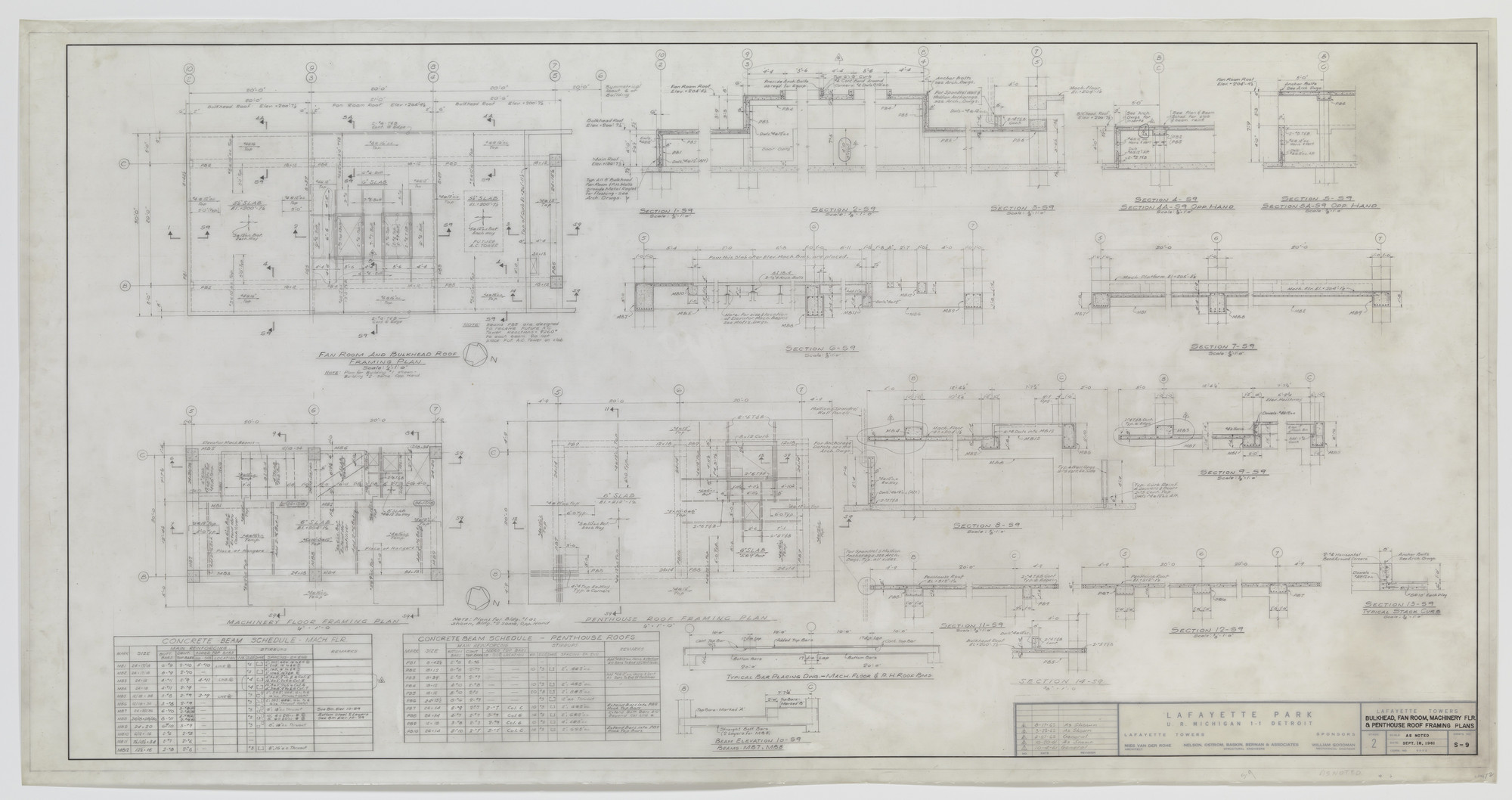 Ludwig Mies van der Rohe. Lafayette Towers, Detroit, MI. 1960 | MoMA