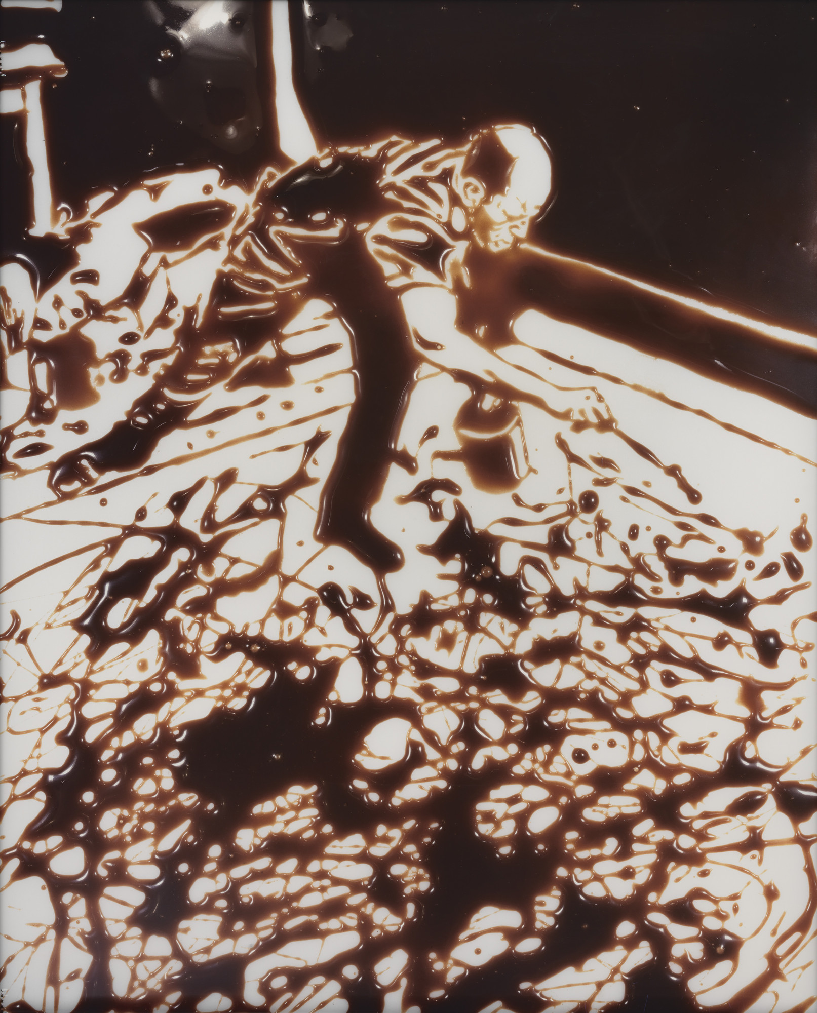 Vik Muniz. Action Photo, After Hans Namuth. 1997
