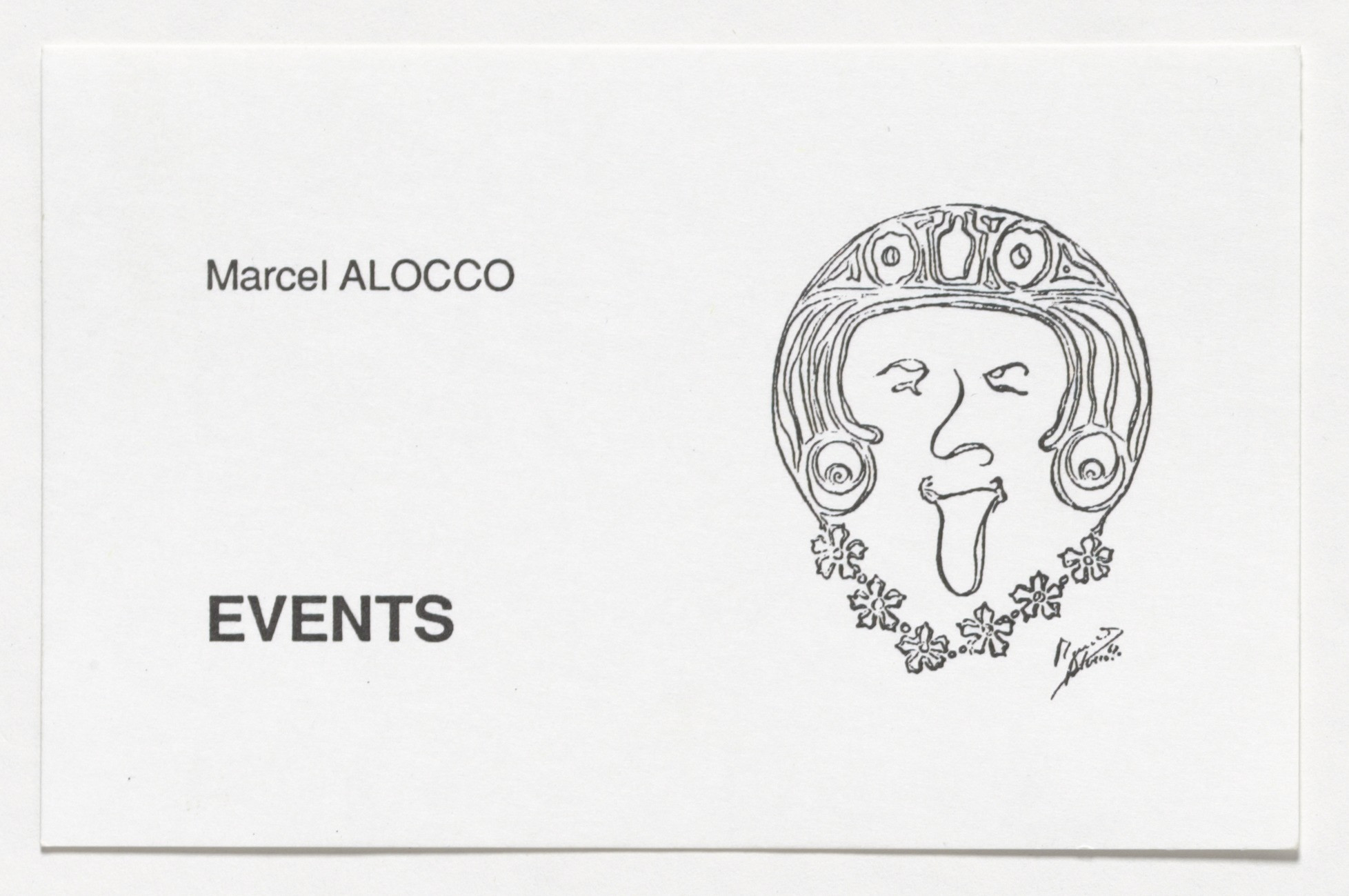 Marcel Alocco. Events. 1960-68