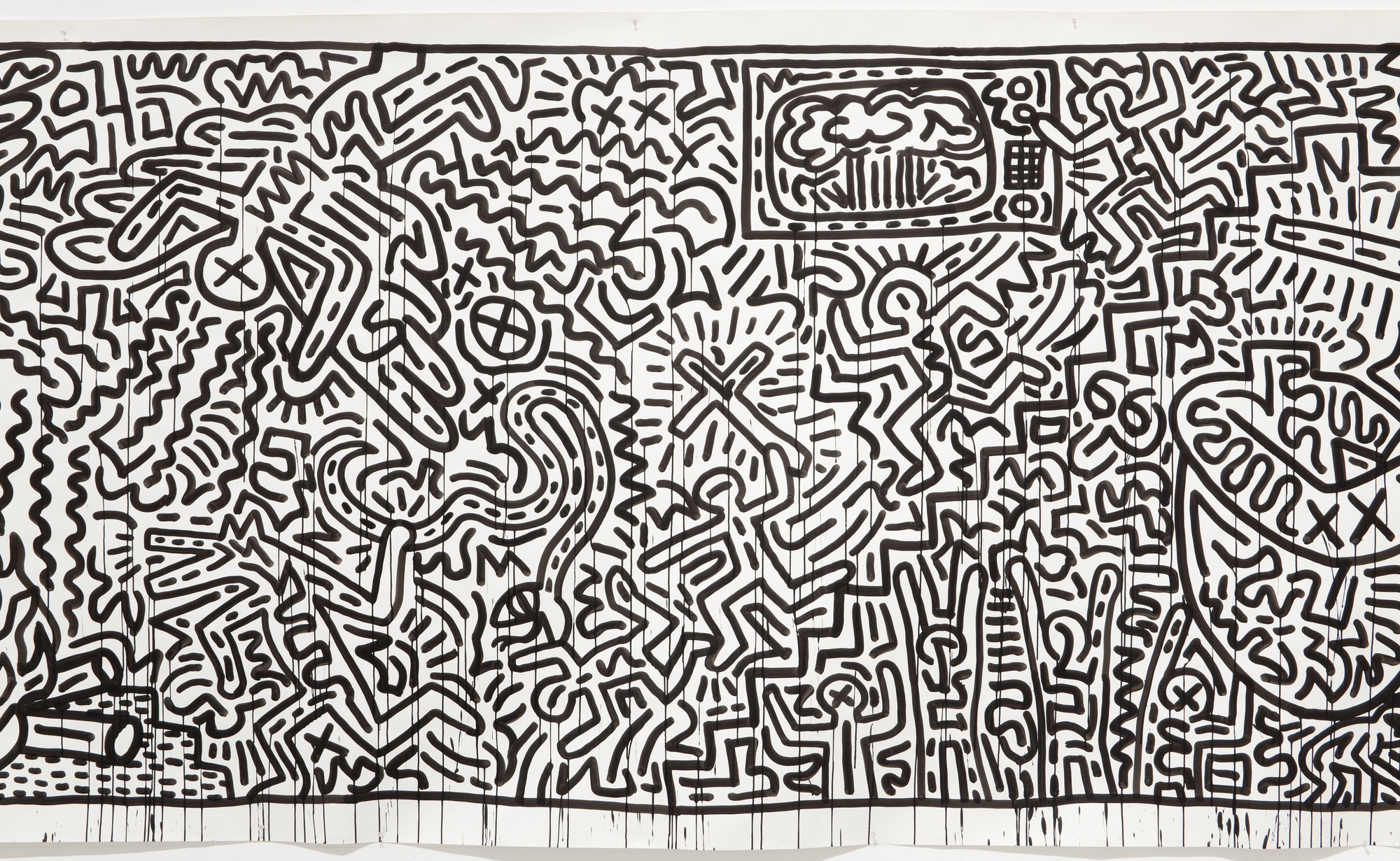 Keith Haring. Untitled. 1982