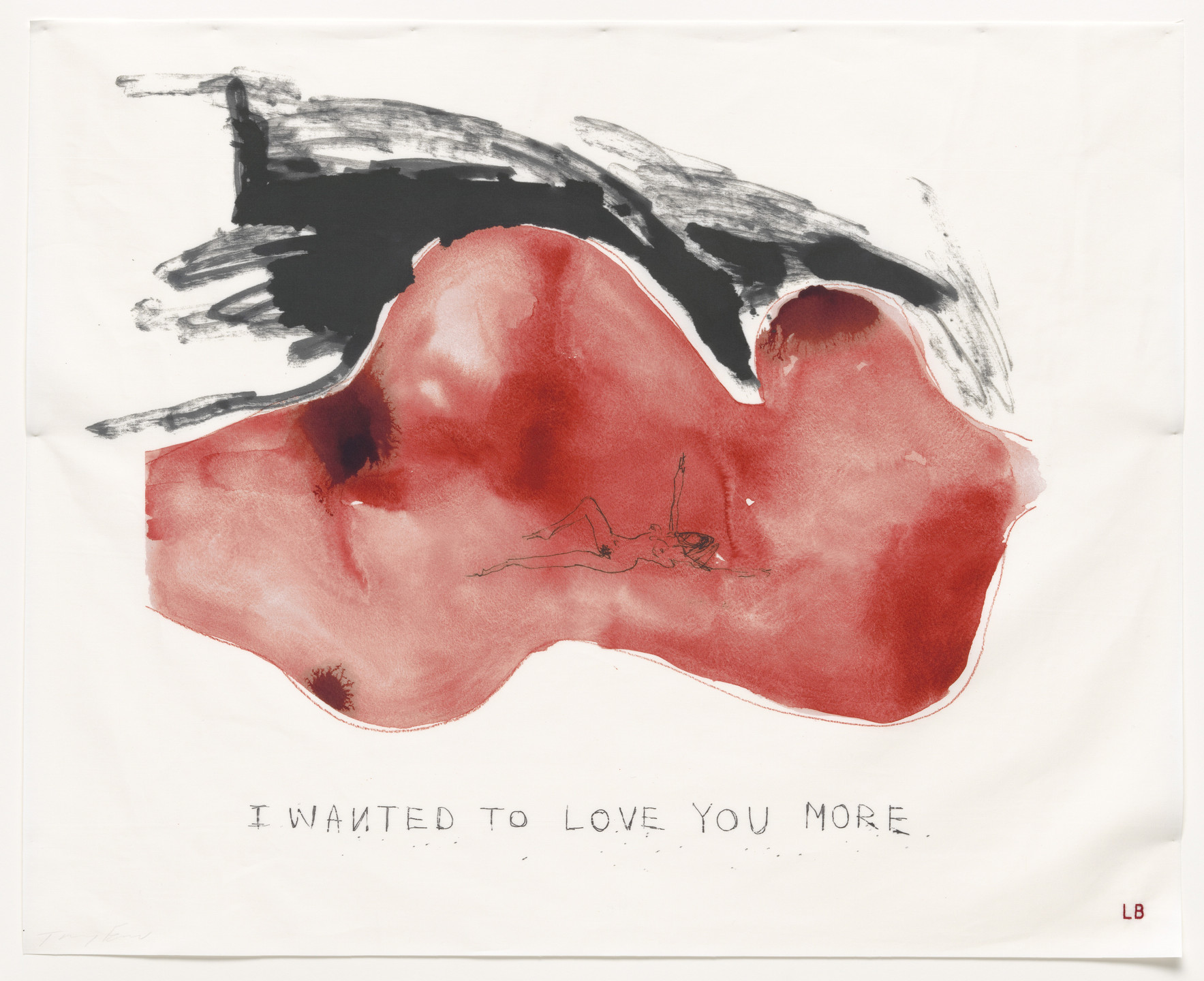 Louise Bourgeois, Tracey Emin. I Wanted to Love You More, no. 1 of 16, from the series, Do Not Abandon Me. 2009-2010
