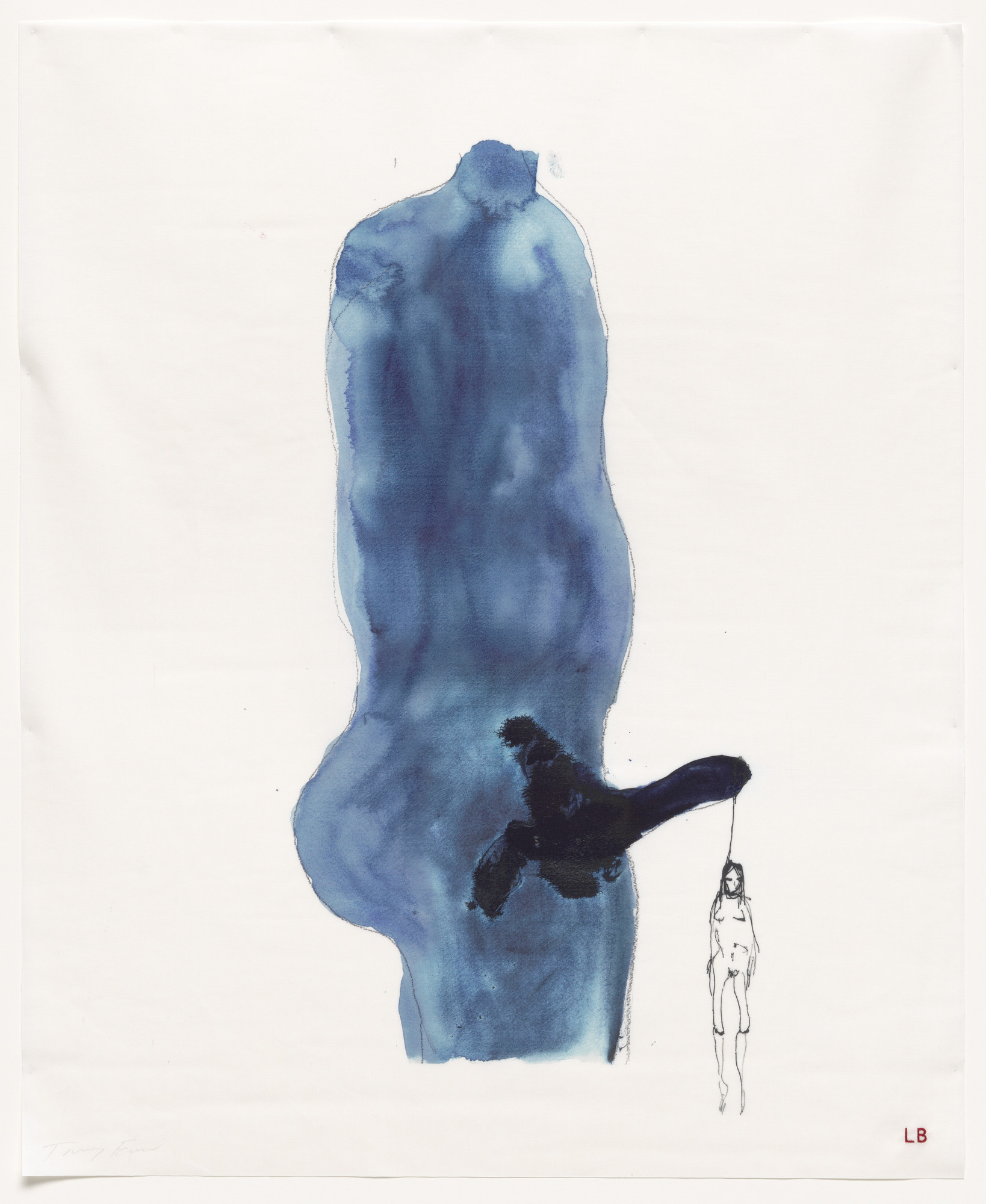 Louise Bourgeois, Tracey Emin. Just Hanging, no. 11 of 16, from the series, Do Not Abandon Me. 2009-2010
