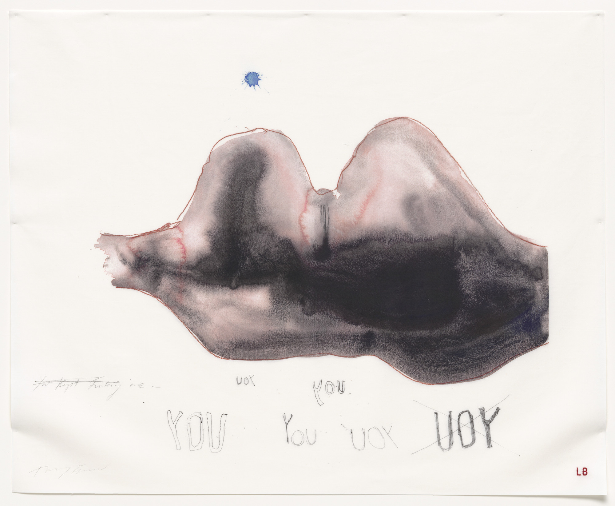 Louise Bourgeois, Tracey Emin. Waiting for You, no. 15 of 16, from the series, Do Not Abandon Me. 2009-2010
