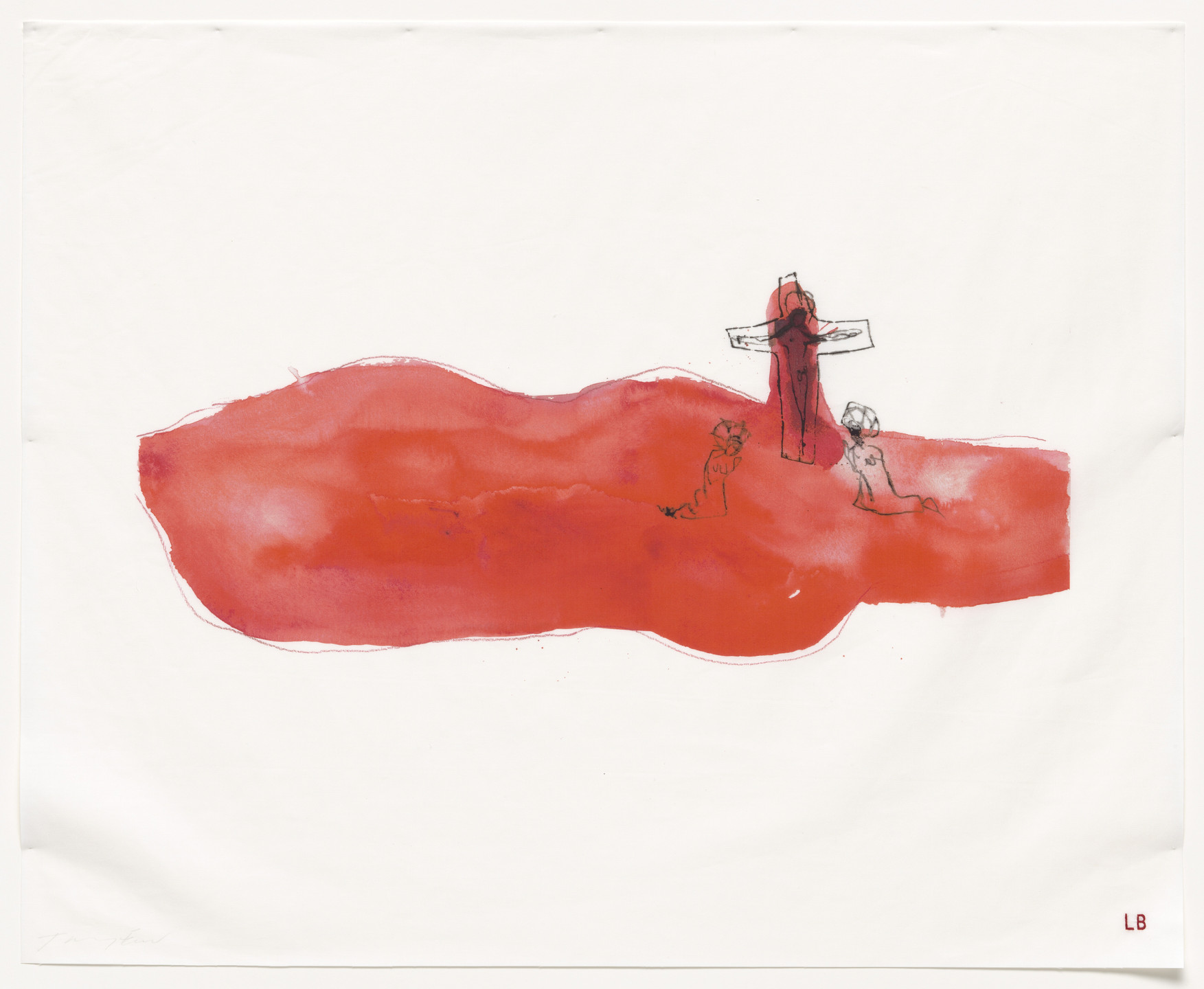 Louise Bourgeois, Tracey Emin. Come Unto Me, no. 5 of 16, from the series, Do Not Abandon Me. 2009-2010