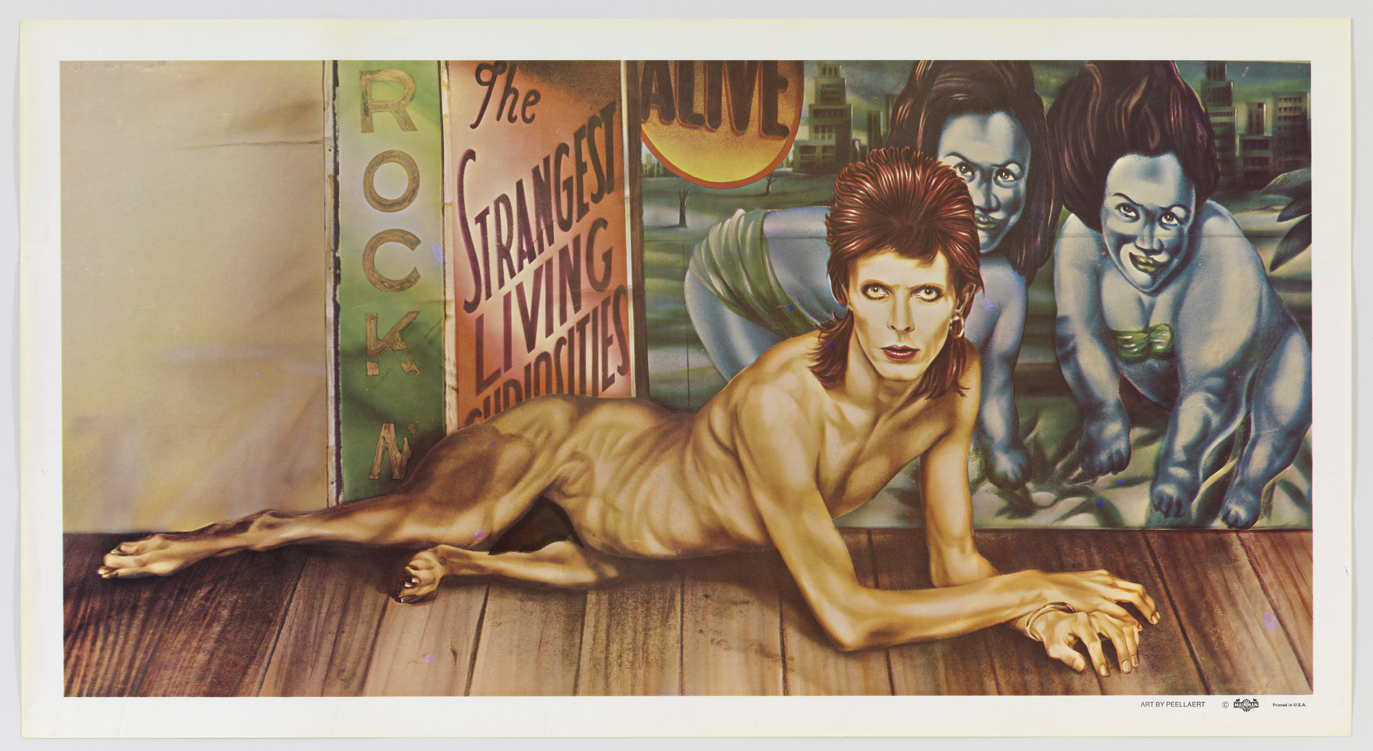 Guy Peellaert. David Bowie, Diamond Dogs. 1974