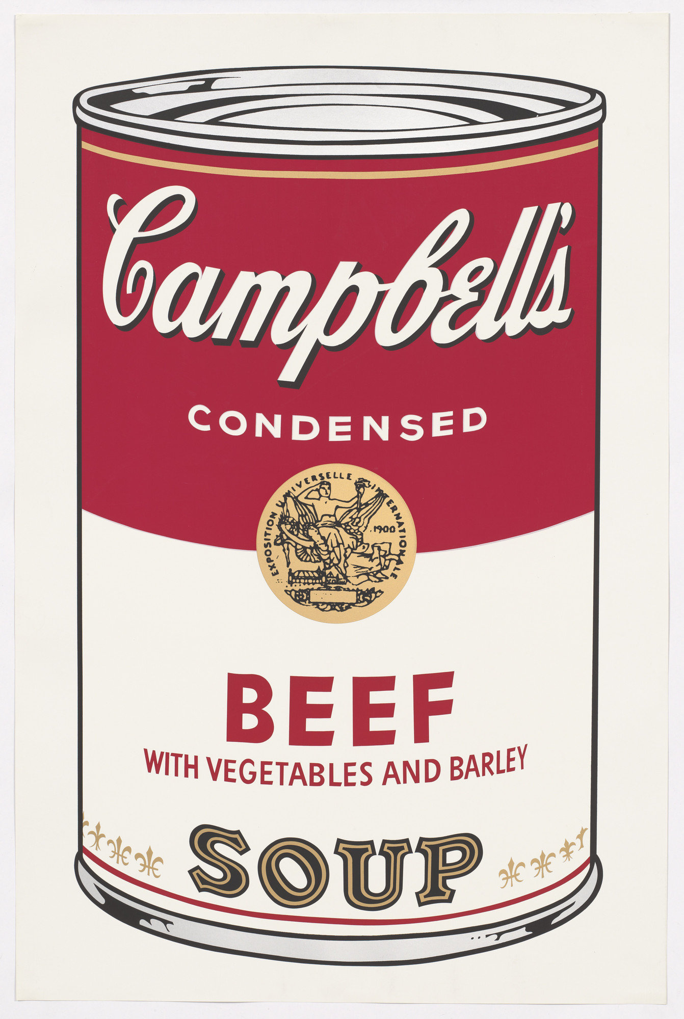 Andy Warhol. Untitled from Campbell's Soup I. 1968