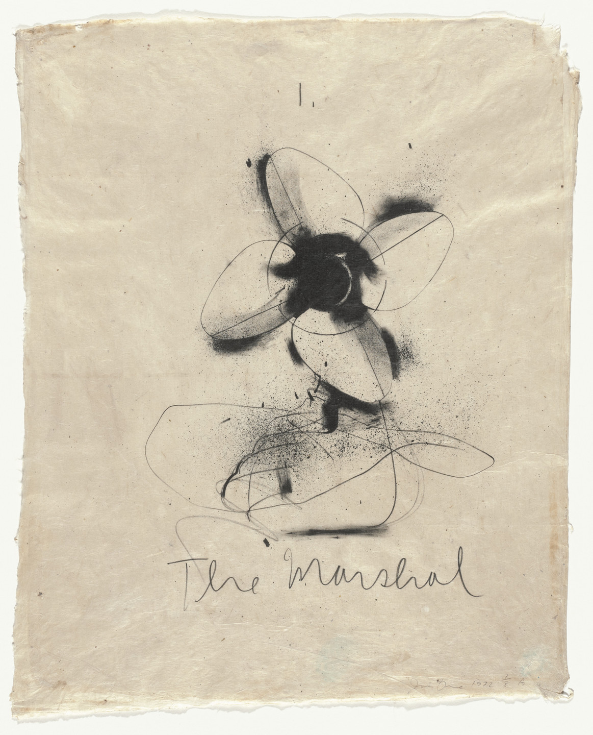 Jim Dine. The Marshal from Flaubert Favorites (Edition A). 1972