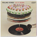 Robert Brownjohn, Delia Smith, Decca Records. Album cover for the Rolling Stones, Let It Bleed. 1969