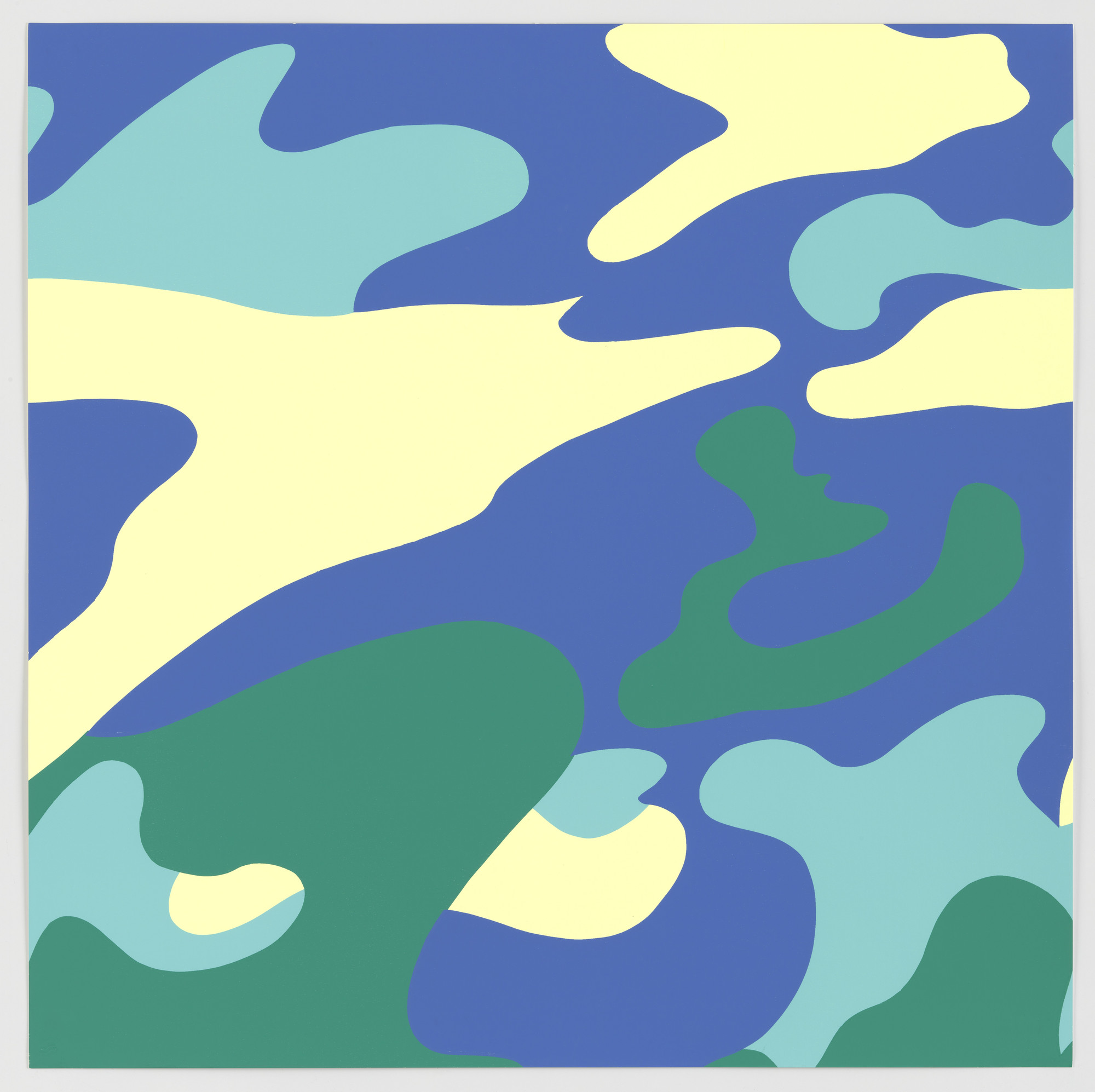 Andy Warhol. Untitled from Camouflage. 1987