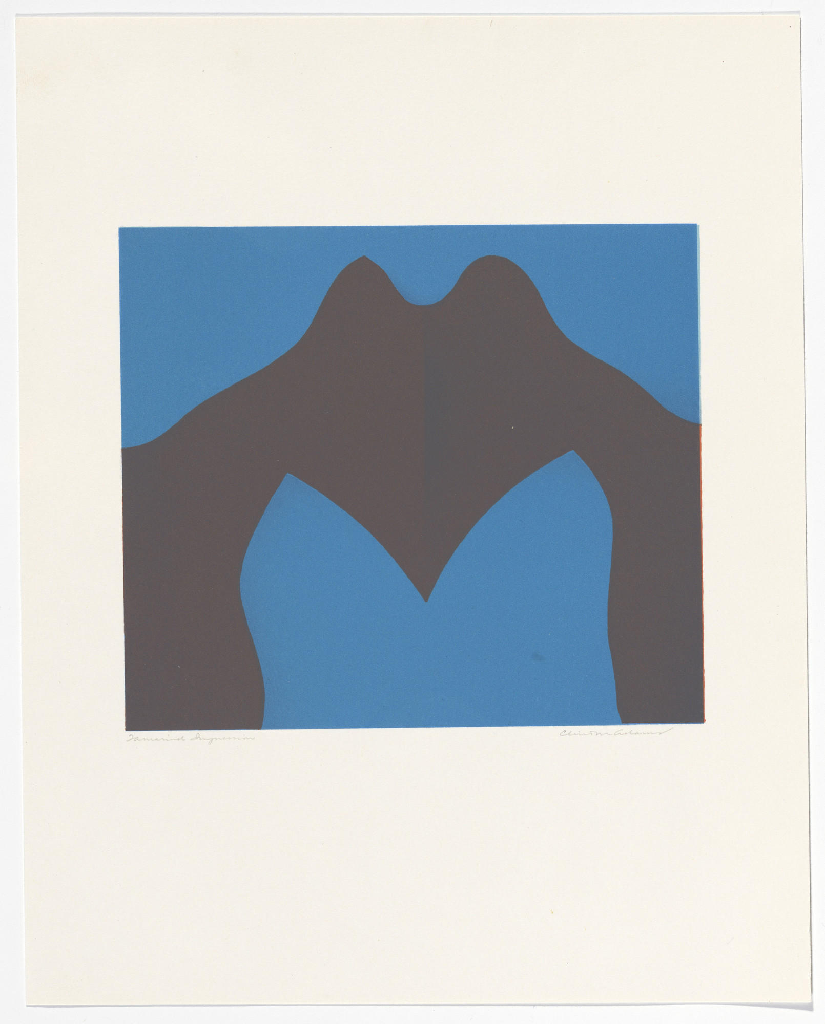 Clinton Adams. Cibola Series (Blue). 1968–69