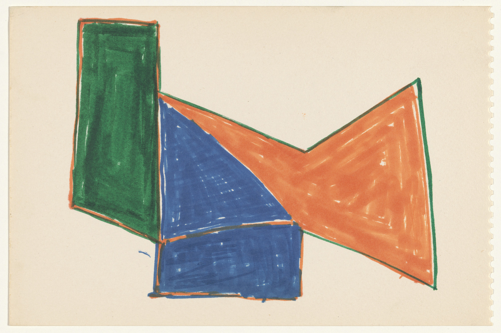 Frank Stella. Untitled. (1963)