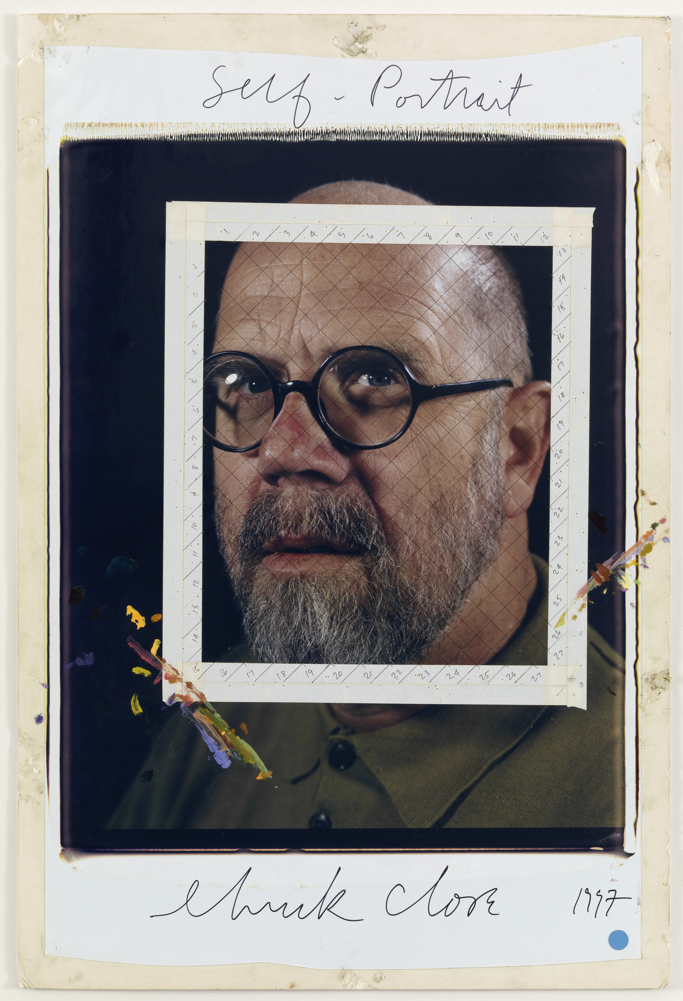 Chuck Close. Self-Portrait. 1997