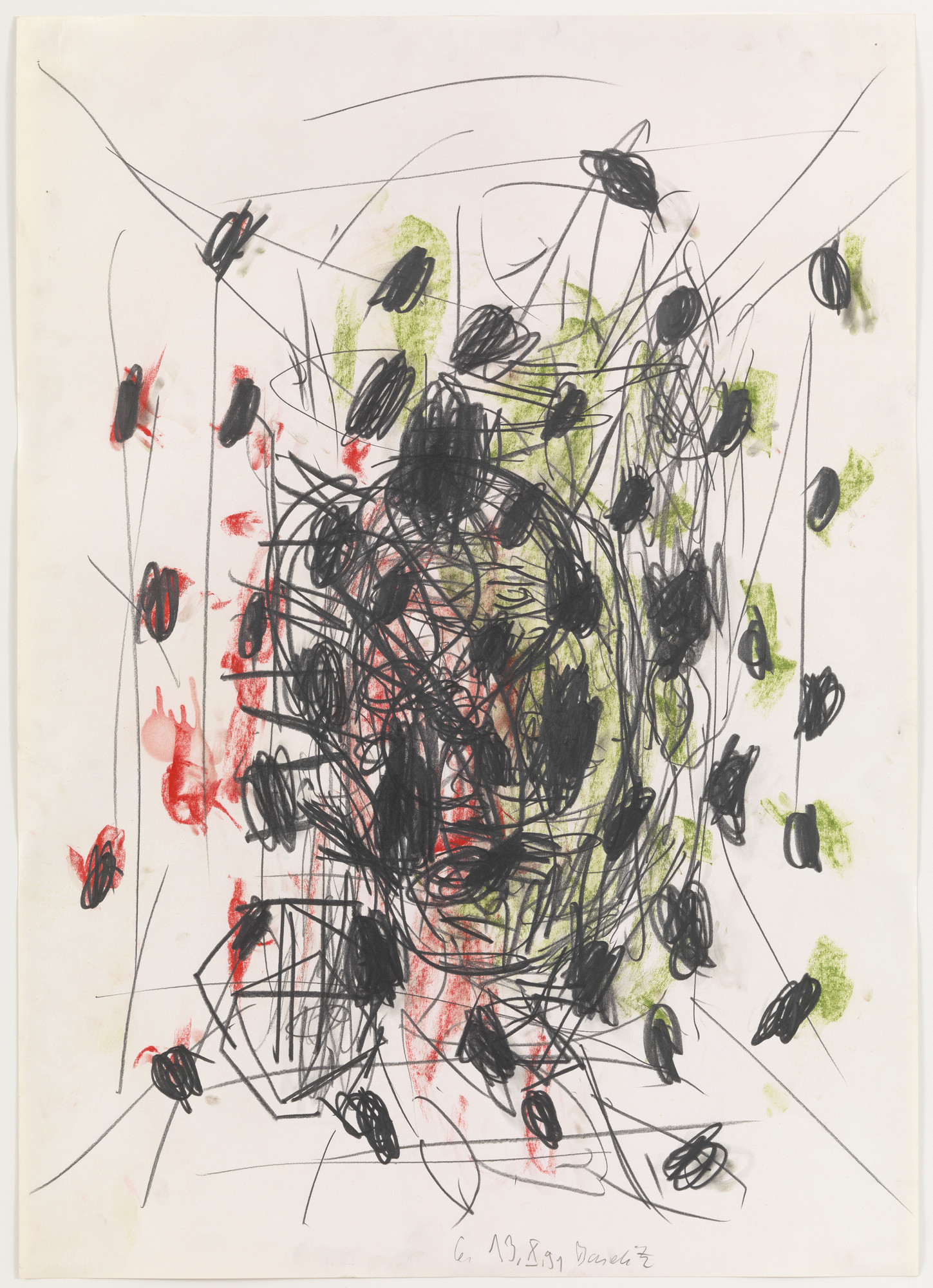 Georg Baselitz. Untitled. 1991