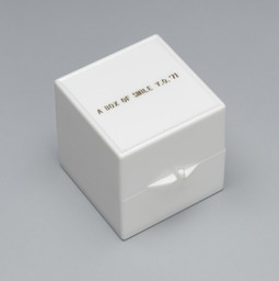 Yoko Ono. A Box of Smile. 1984
